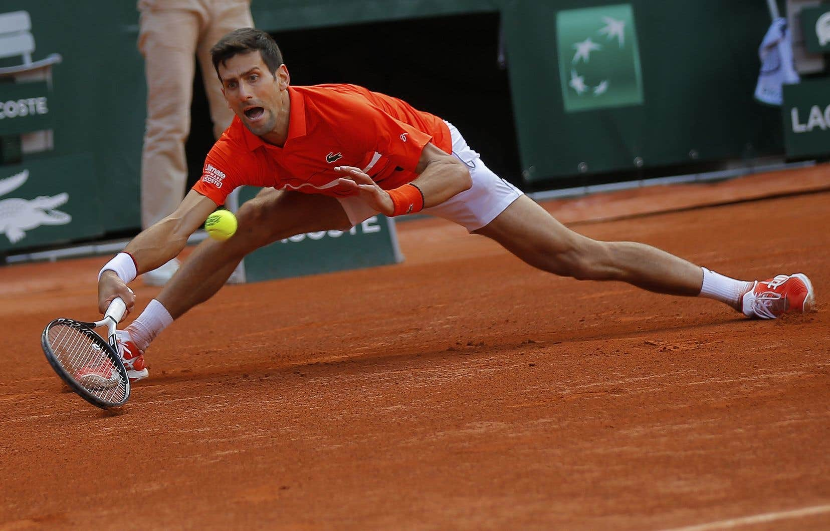 Novak Djokovic veut gagner chacun des matchs auxquels il participe.