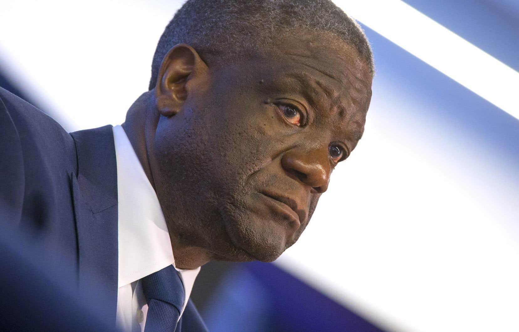 Malgré toutes ces années passées à soigner ces femmes «dont les corps ont été utilisés comme champs de bataille», l'horreur des guerres et des conflits armés n'est pas encore derrière nous, souligne le Dr Denis Mukwege.