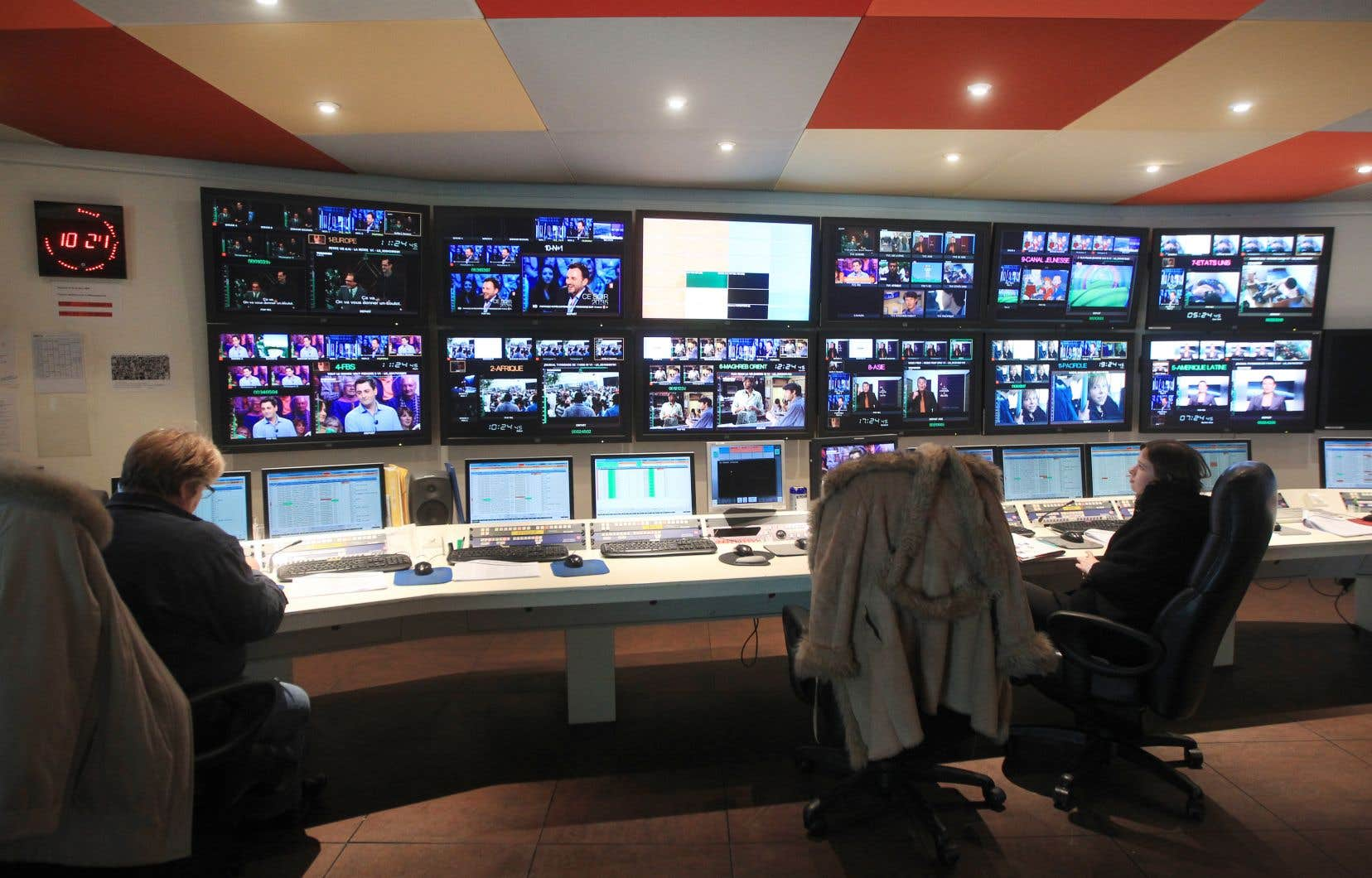 «La programmation produite au Canada représente environ 15% de la chaîne et permet d'apporter un regard canadien sur le monde», rappellent les auteures.