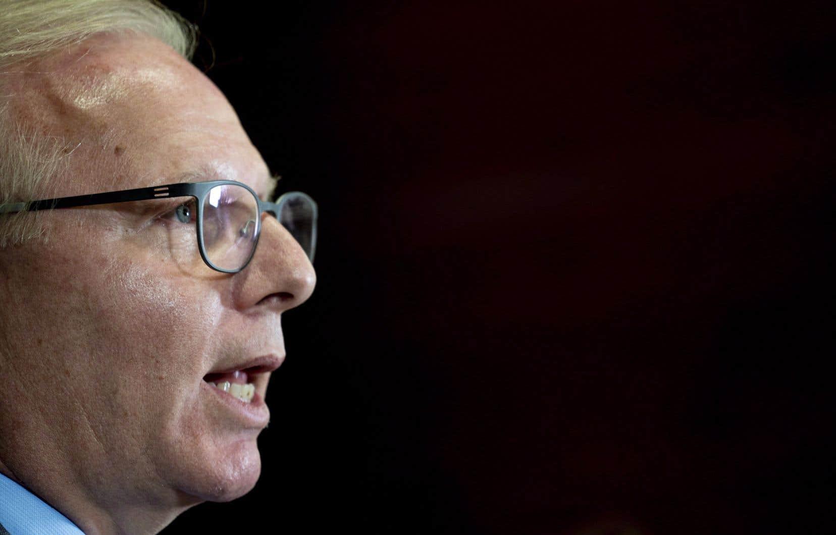 L'ex-chef du Parti québécois Jean-François Lisée