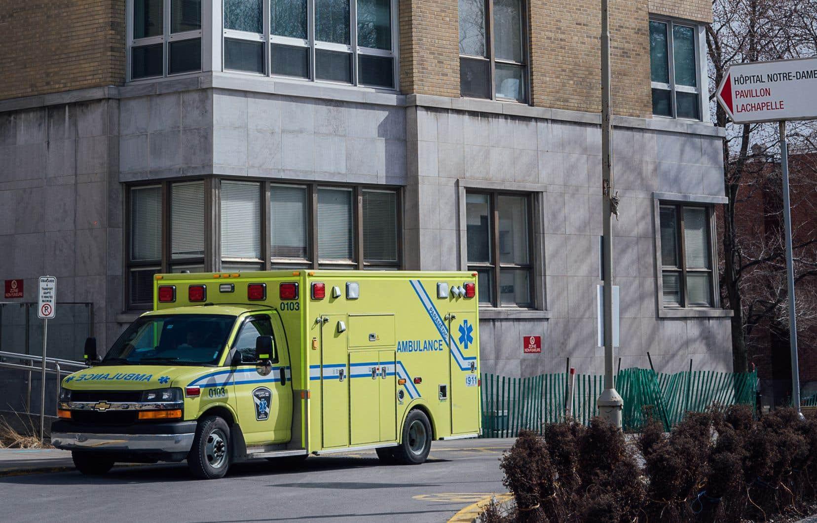 L'hôpital Notre-Dame a quitté le giron du CHUM à l'automne 2017.