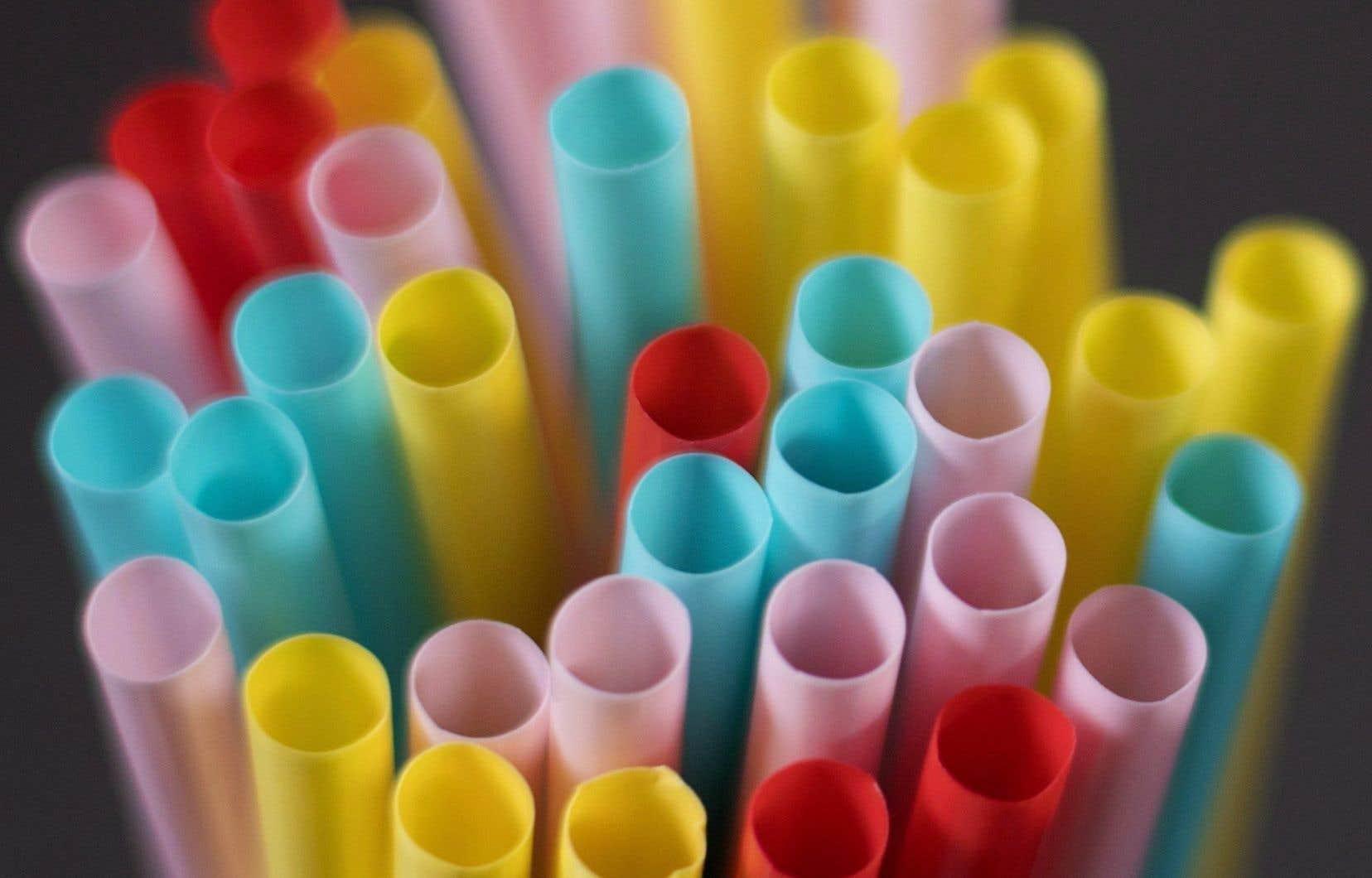 La prolifération des articles en plastique à usage unique, comme les bouteilles d'eau, les pailles et les emballages alimentaires, provoque un désastre écologique.