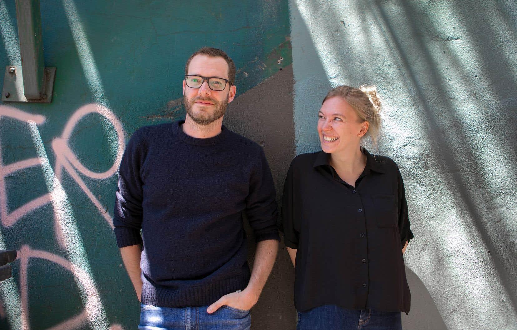 Renaud Plante et Marie-Claude Pouliot, les cofondateurs de la maison d'édition Nouvelle adresse