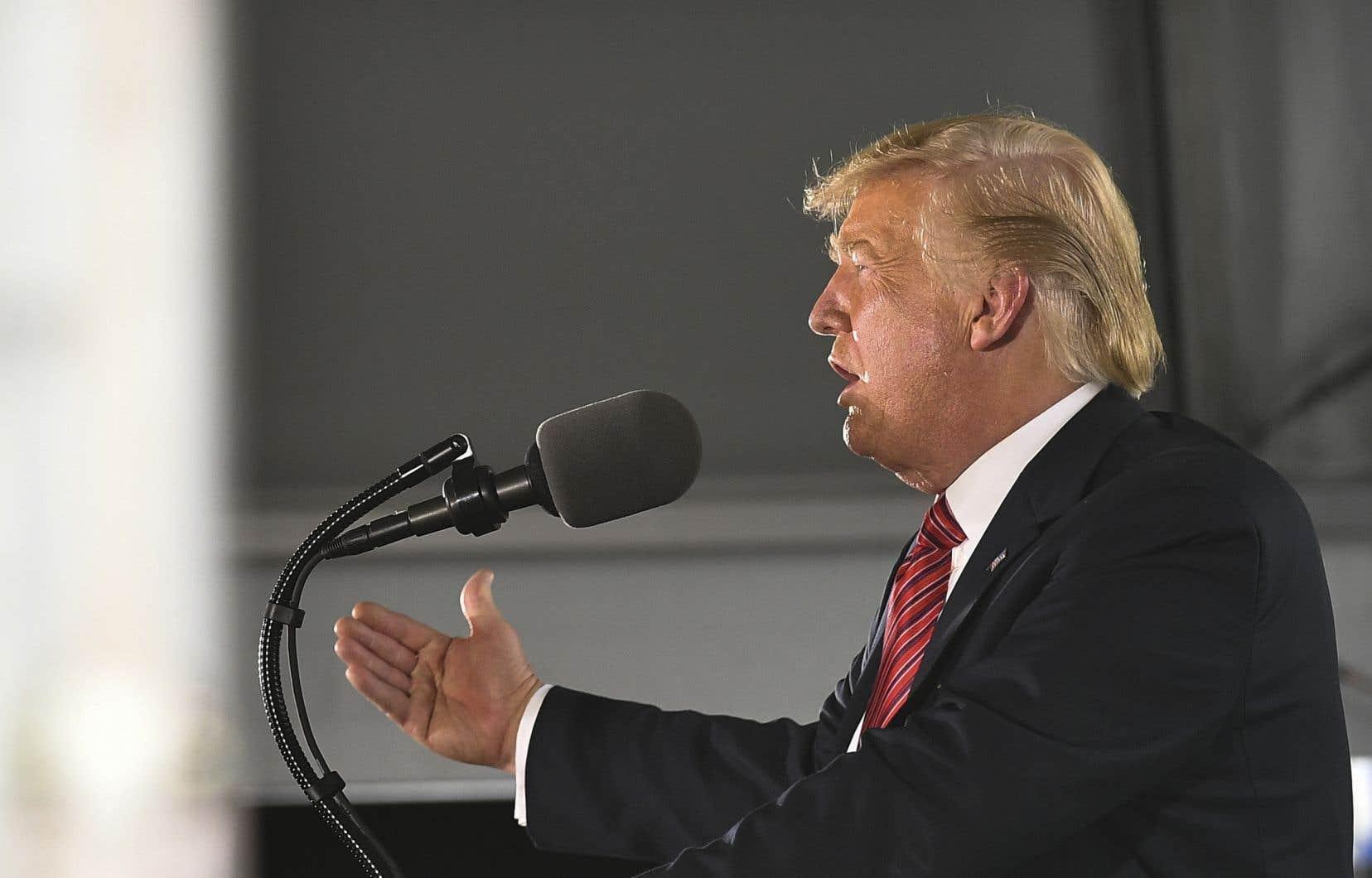 Donald Trump a fait de la lutte contre l'immigration illégale un des marqueurs de sa présidence.