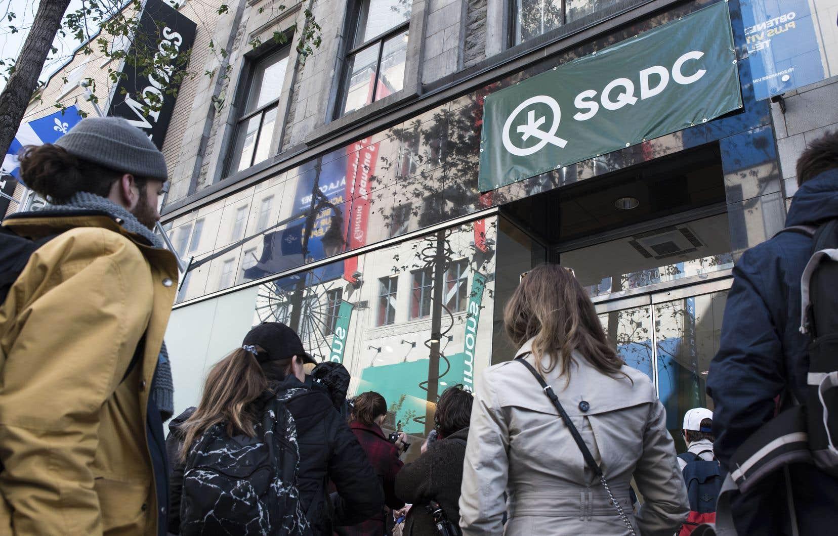 La Société québécoise du cannabis a généré des ventes de 71 millions.