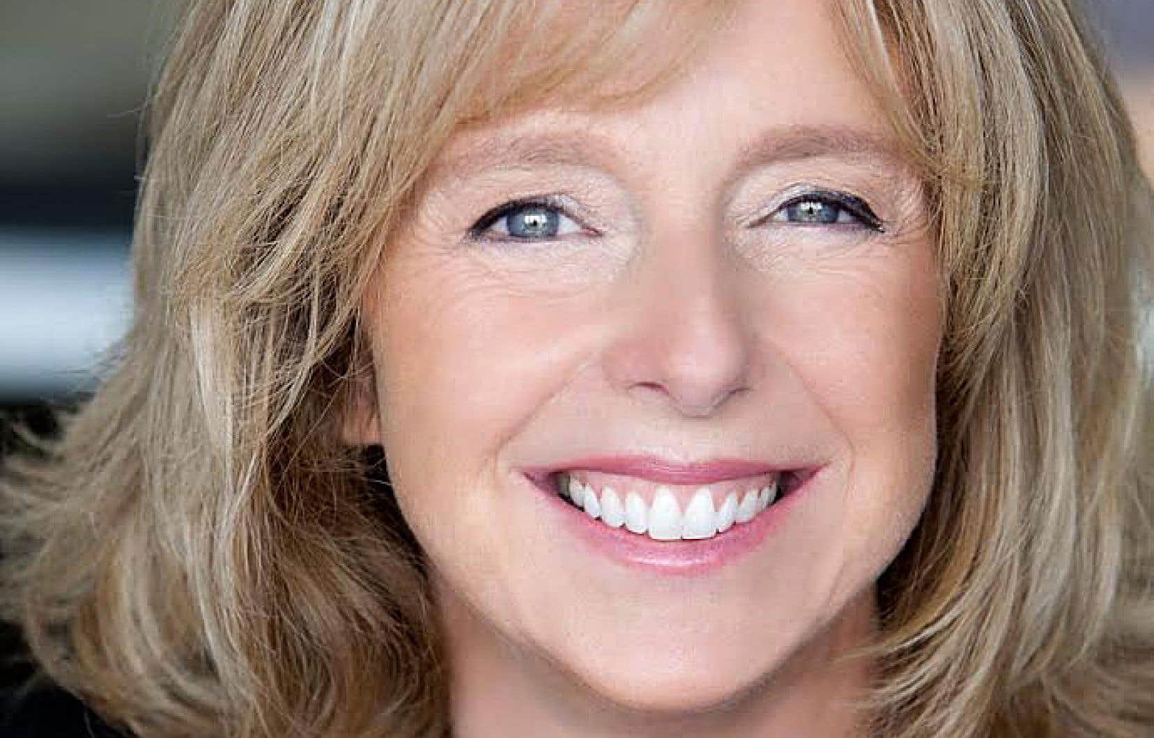 La directrice générale de la télévision de Radio-Canada, Dominique Chaloult