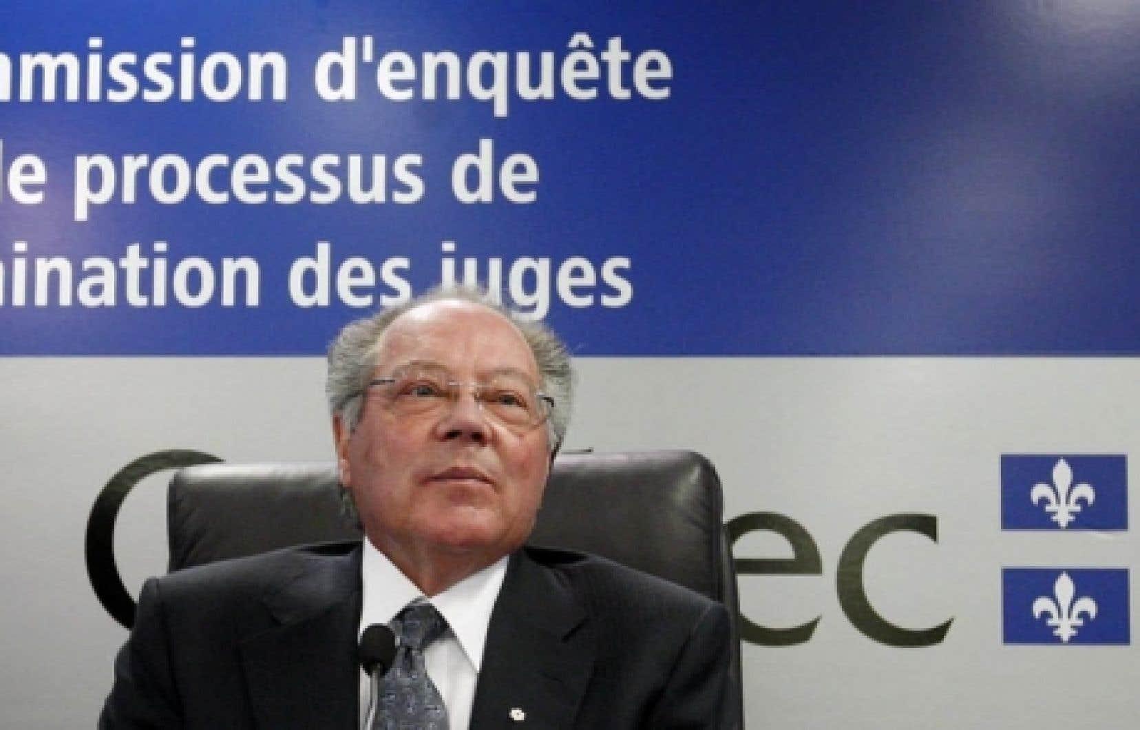 Le juge Michel Bastarache<br />