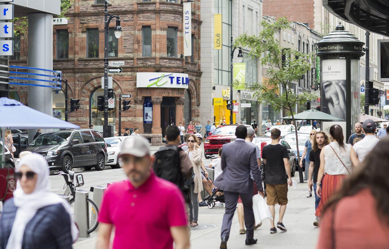 Le retour à la santé financière s'appuie sur un accroissement des revenus du Québec.