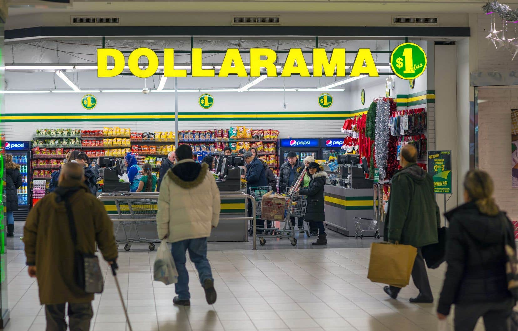 Dollarama a annoncé jeudi qu'il s'attendait à une croissance du chiffre d'affaires de ses magasins ouverts depuis au moins un an de 3 à 4%.