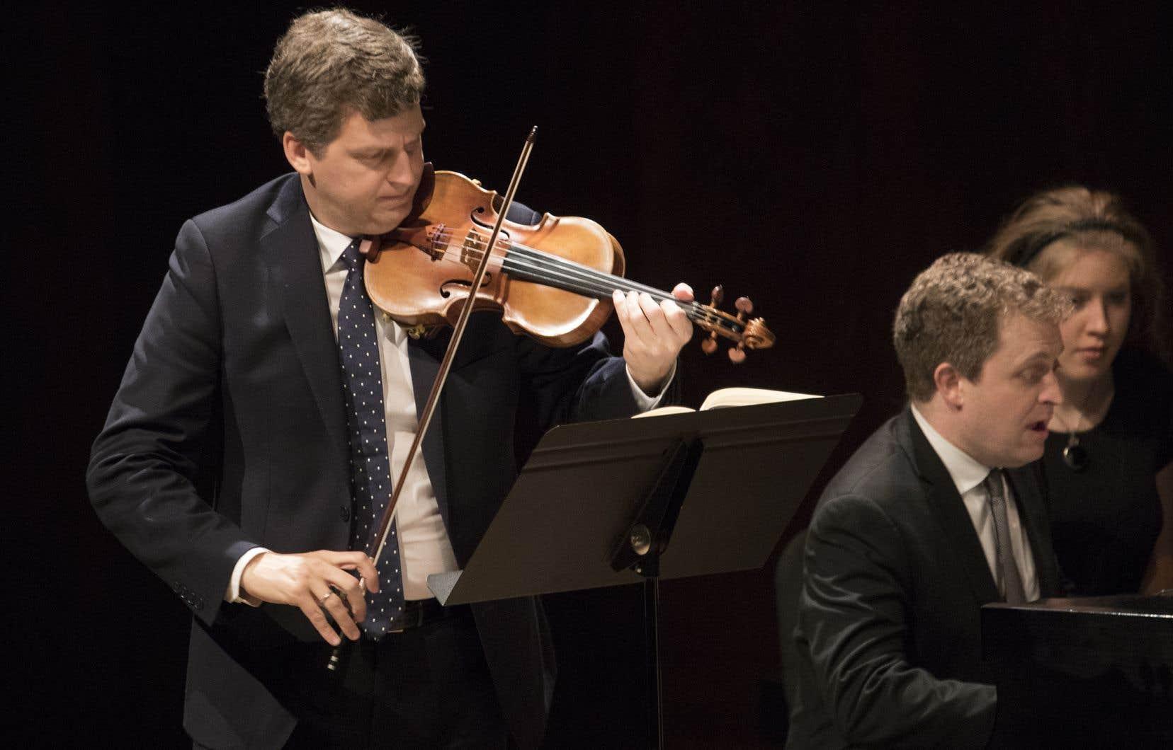 La réalisation est à la hauteur des attentes à l'égard d'un violoniste de cette stature.