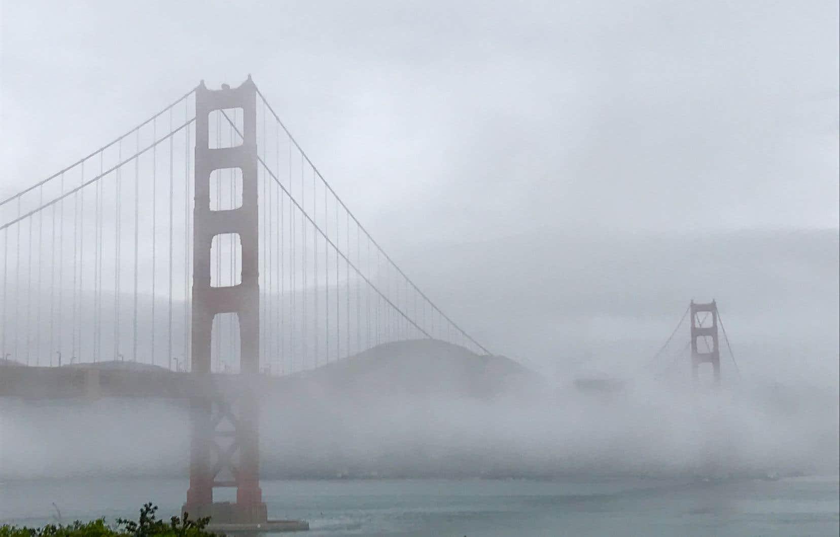 Le quartier jadis industriel où s'est installé le restaurant Greens offre une magnifique vue sur la baie et sur le fameux pont Golden Gate.