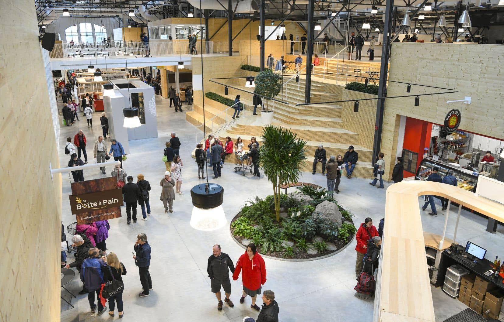 Les concepteurs du Grand Marché de Québec se sont inspirésdes marchés les plus intéressants au monde.