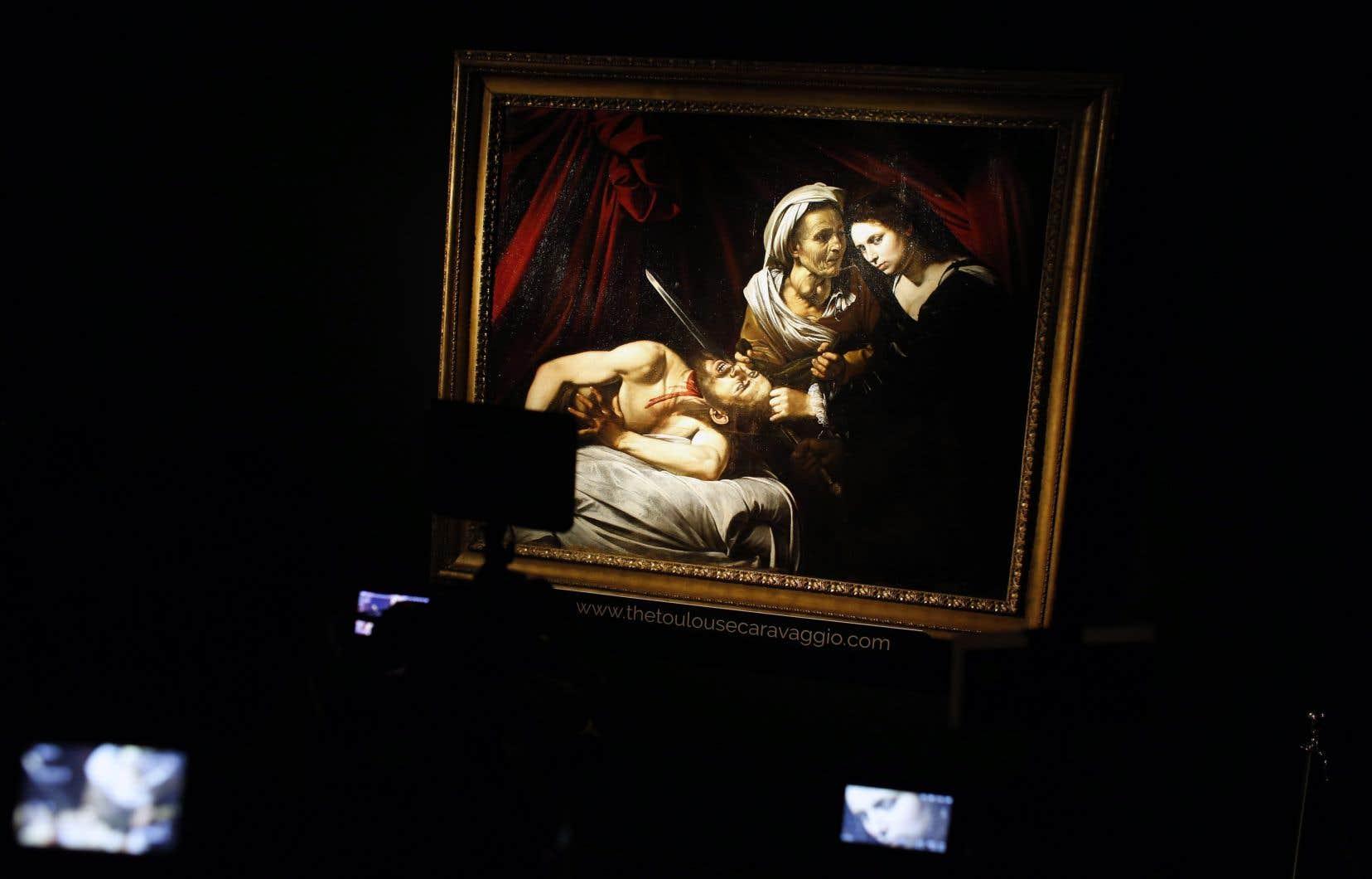 La peinture «Judith et Holoferne» avait été retrouvée dans une résidence de Toulouse il y a cinq ans.