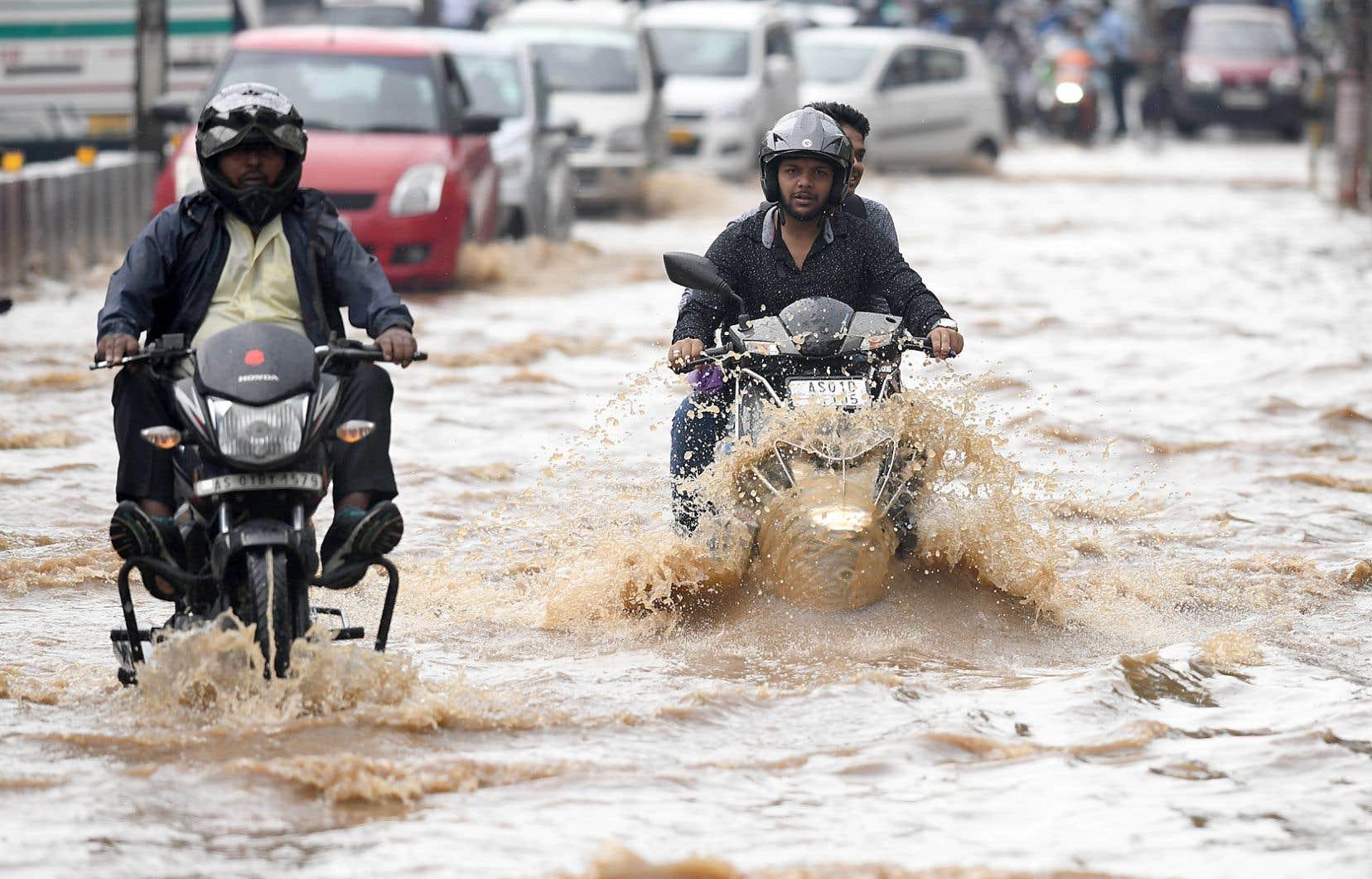 Le mois dernier, la Banque du Canada a établi les changements climatiques comme sources de risques pour le système financier, notamment les manifestations de phénomènes atypiques et extrêmes comme les inondations.