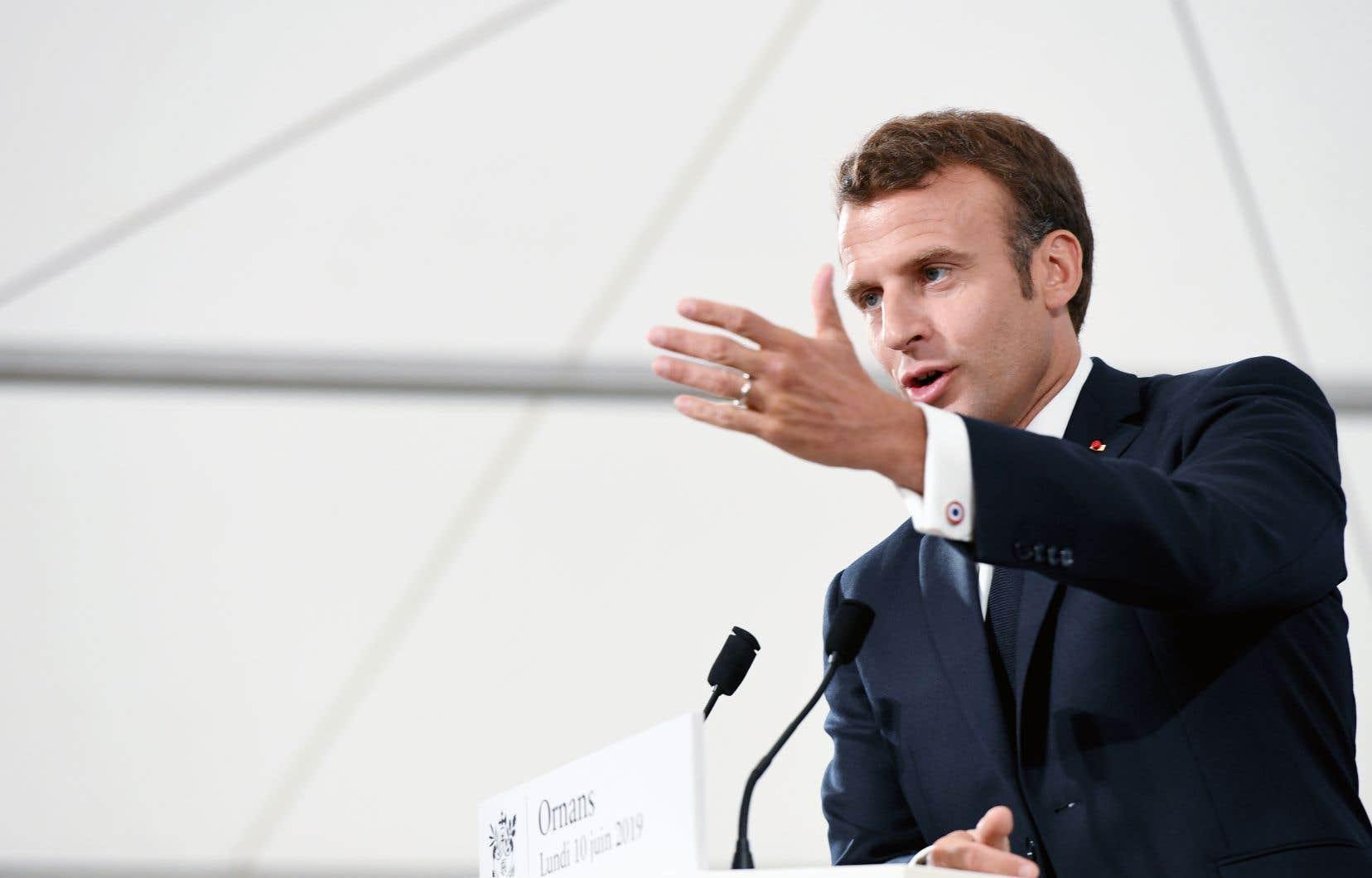 Au Sommet de la Francophonie en octobre 2018, le président Emmanuel Macron avait déclaré sa volonté de promouvoir le français comme «langue de la création», ce qui le différencie de l'anglais, «langue d'usage».
