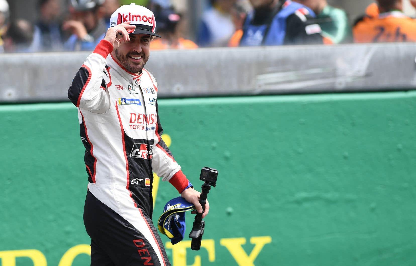 L'Espagnol âgé de 37ans est toujours à la recherche d'une victoire aux 500 milles d'Indianapolis pour rejoindre le Britannique Graham Hill en tant que seuls vainqueurs de la triple couronne du sport automobile.