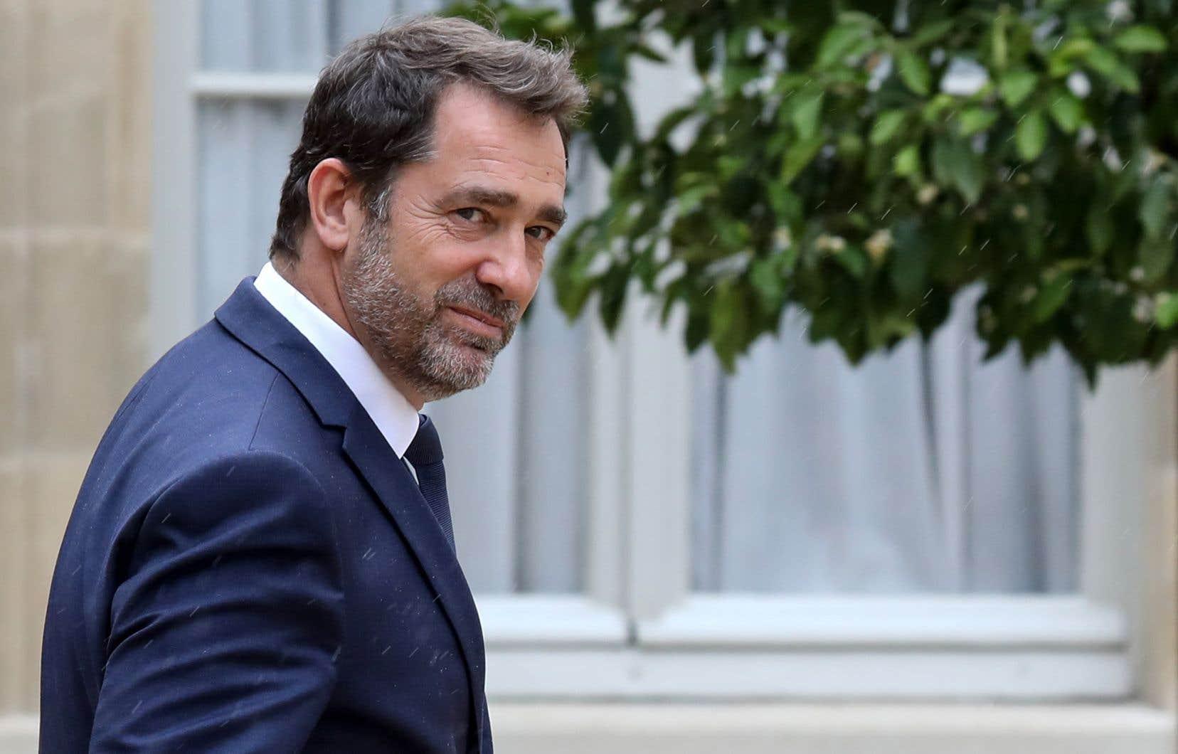 Le ministre français de l'Intérieur, Christophe Castaner