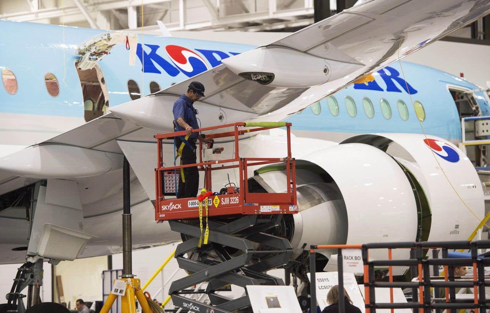 Le pays compte environ 500 petites et moyennes entreprises dans le secteur, selon l'Association des industries aérospatiales du Canada.