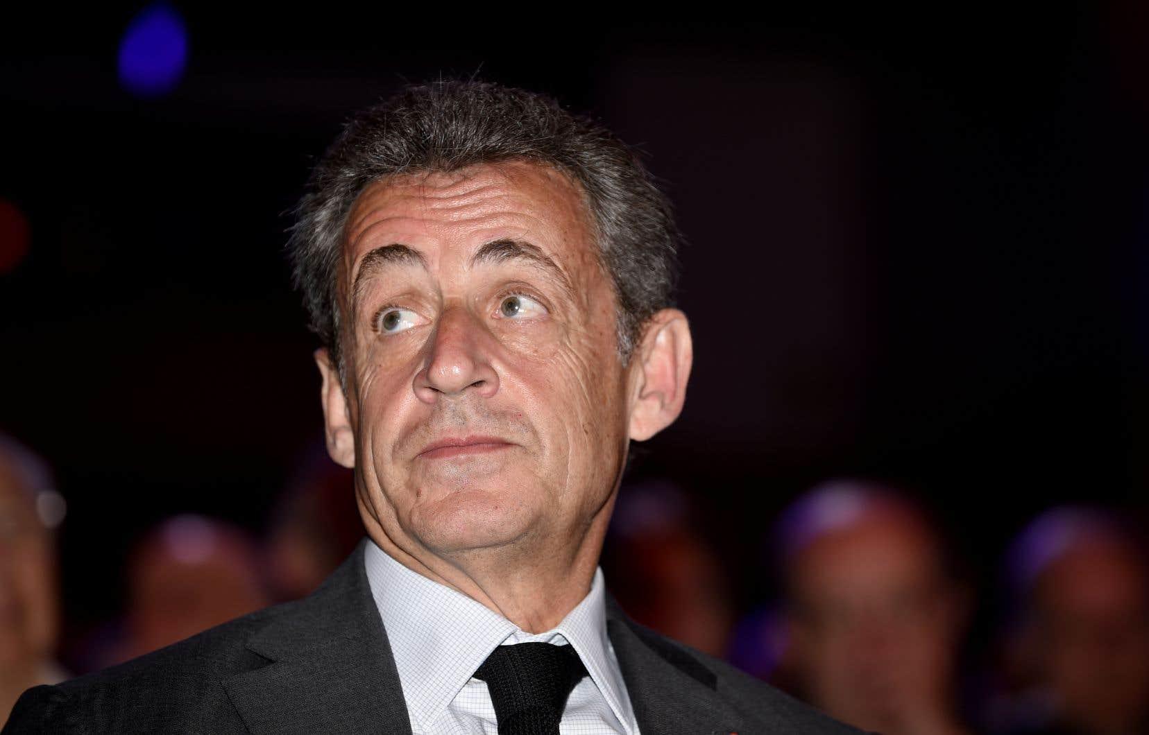 Nicolas Sarkozy est retraité politique depuis fin 2016.<br />