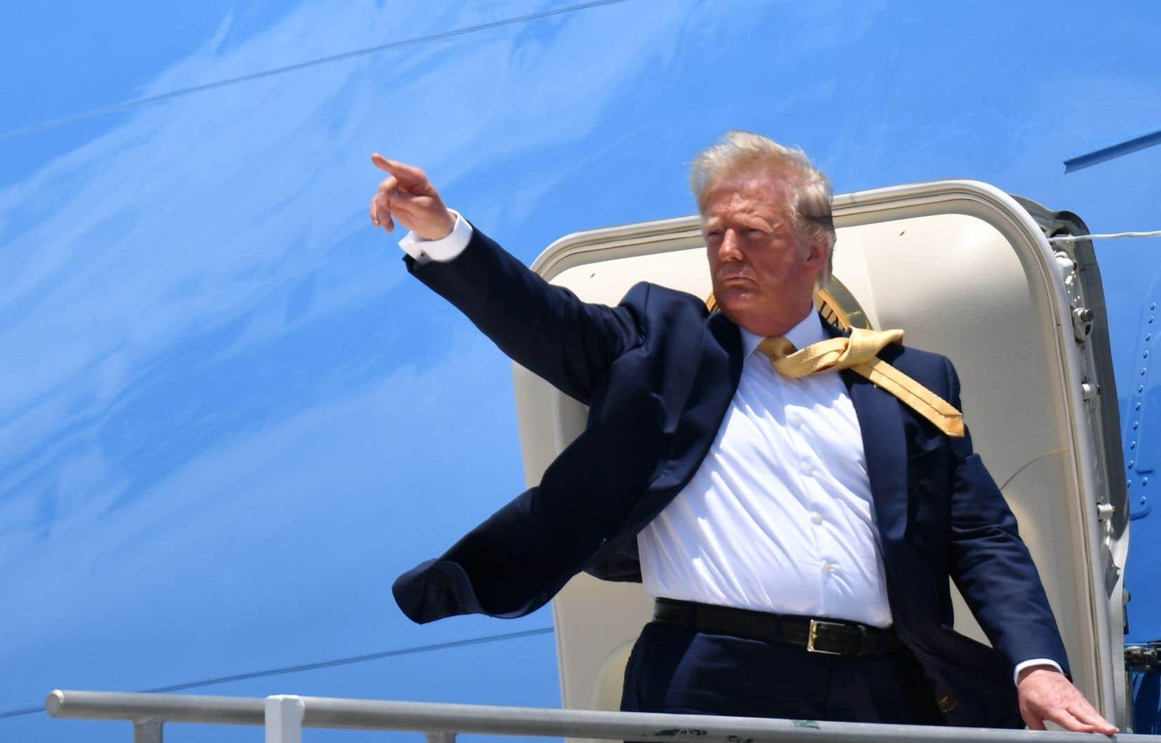 Donald Trump promet un avenir «lumineux» s'il est réélu: «Le rêve américain est de retour».