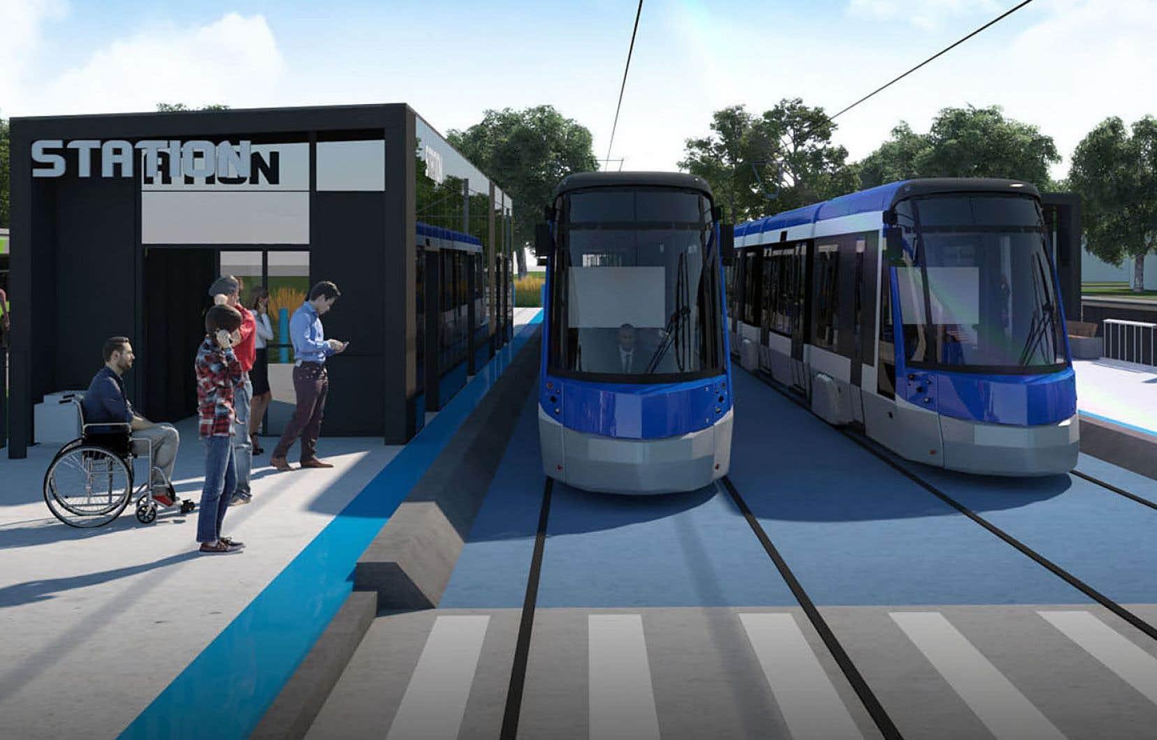 Le projet de tramway suscite des inquiétudes au sein de la population ces derniers jours, au point où le groupe d'opposants au trajet dans le secteur de Sainte-Foy commence à s'étendre ailleurs sur le territoire.
