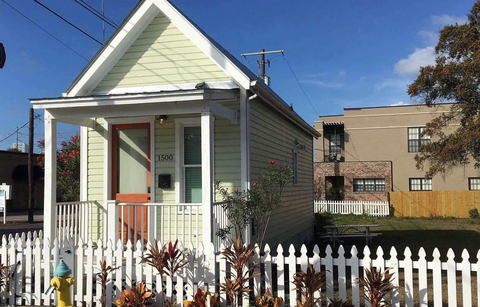 Une petite maison située à Ybor City, en Floride