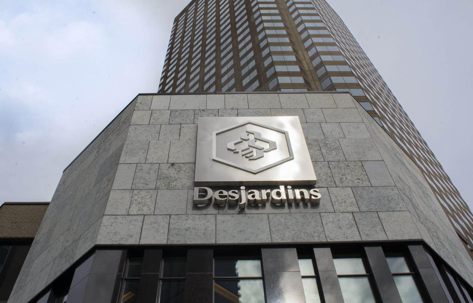 «Desjardins a pris connaissance d'une situation «inquiétante» à la fin du mois de mai», a ditson président, Guy Cormier.