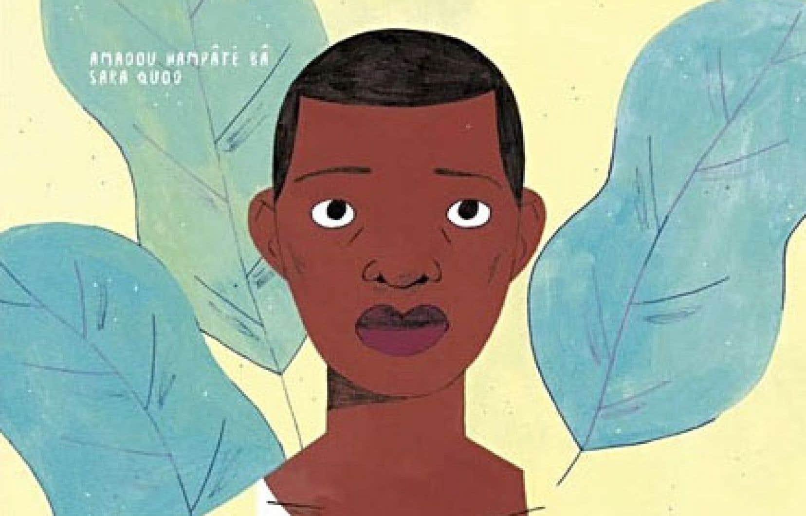 Présenté en grand format, le conte est accompagné des illustrations de Sara Quod