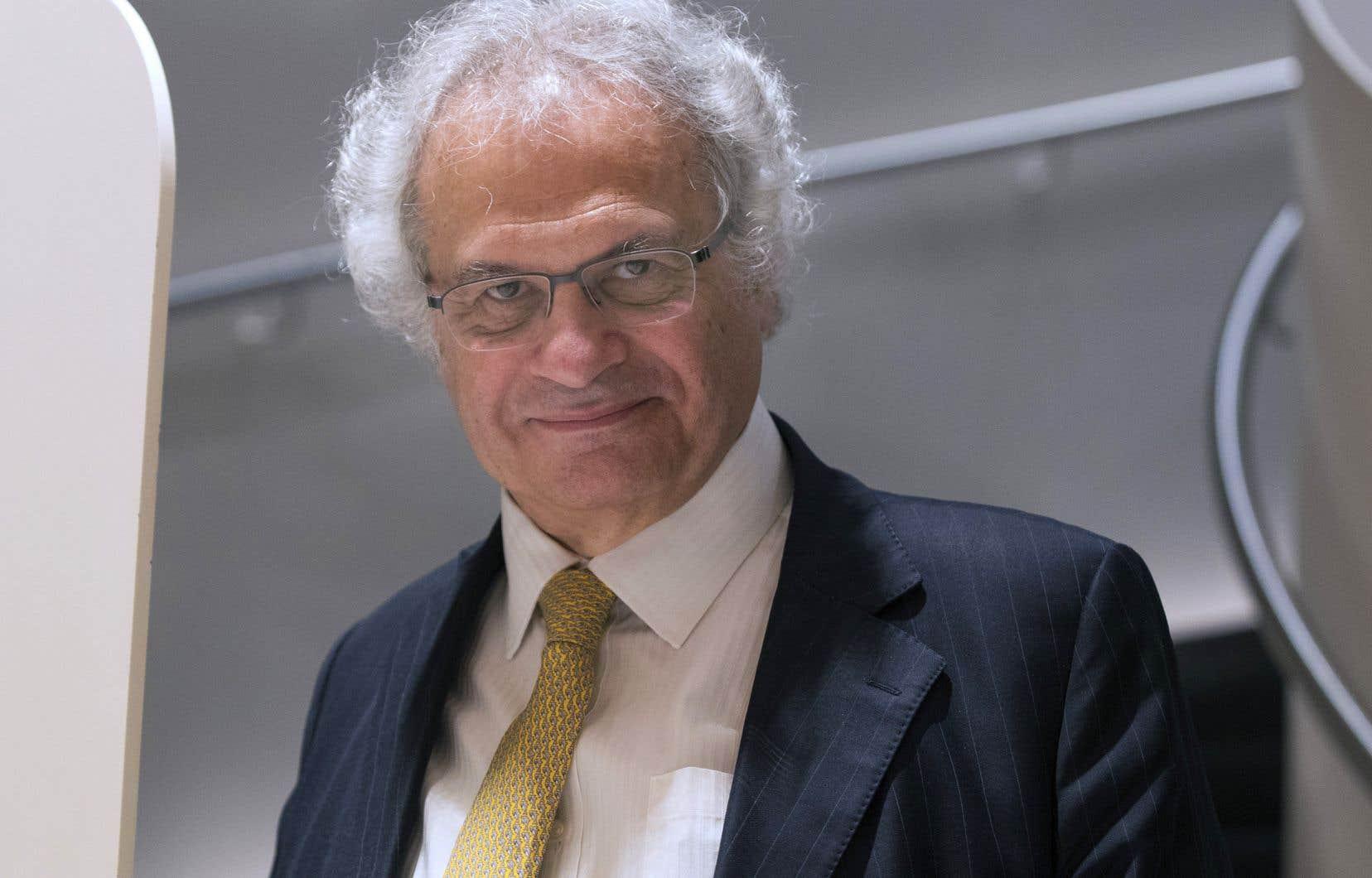 L'écrivain Amin Maalouf