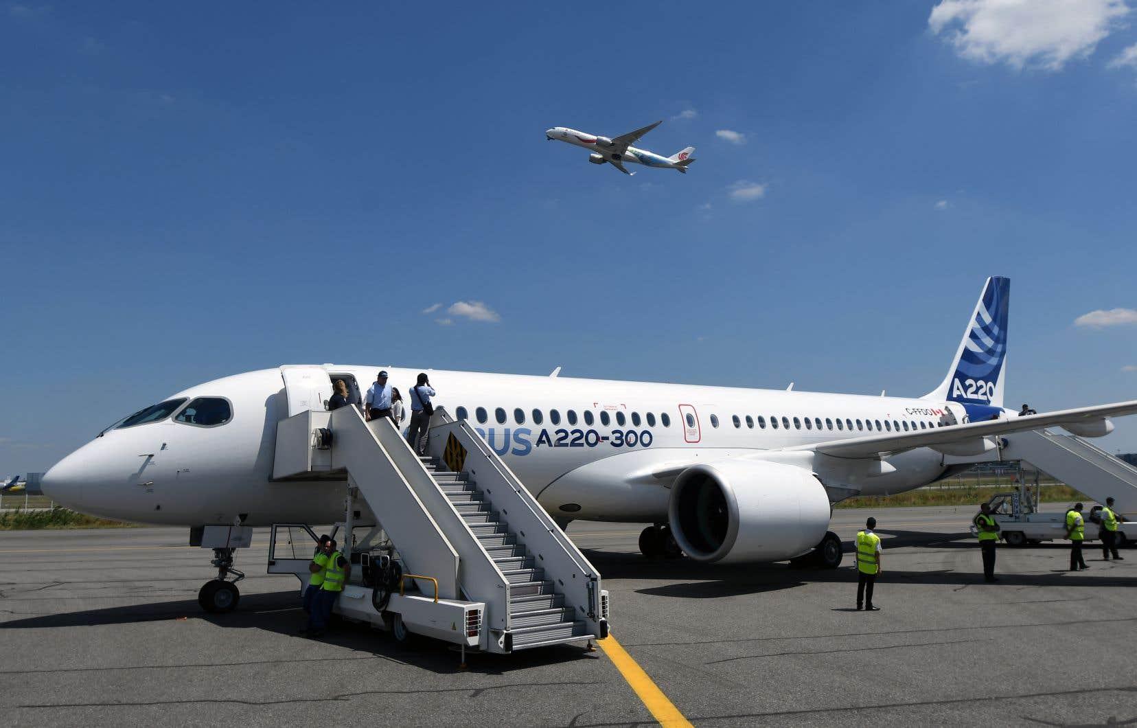 Un Airbus A220-300