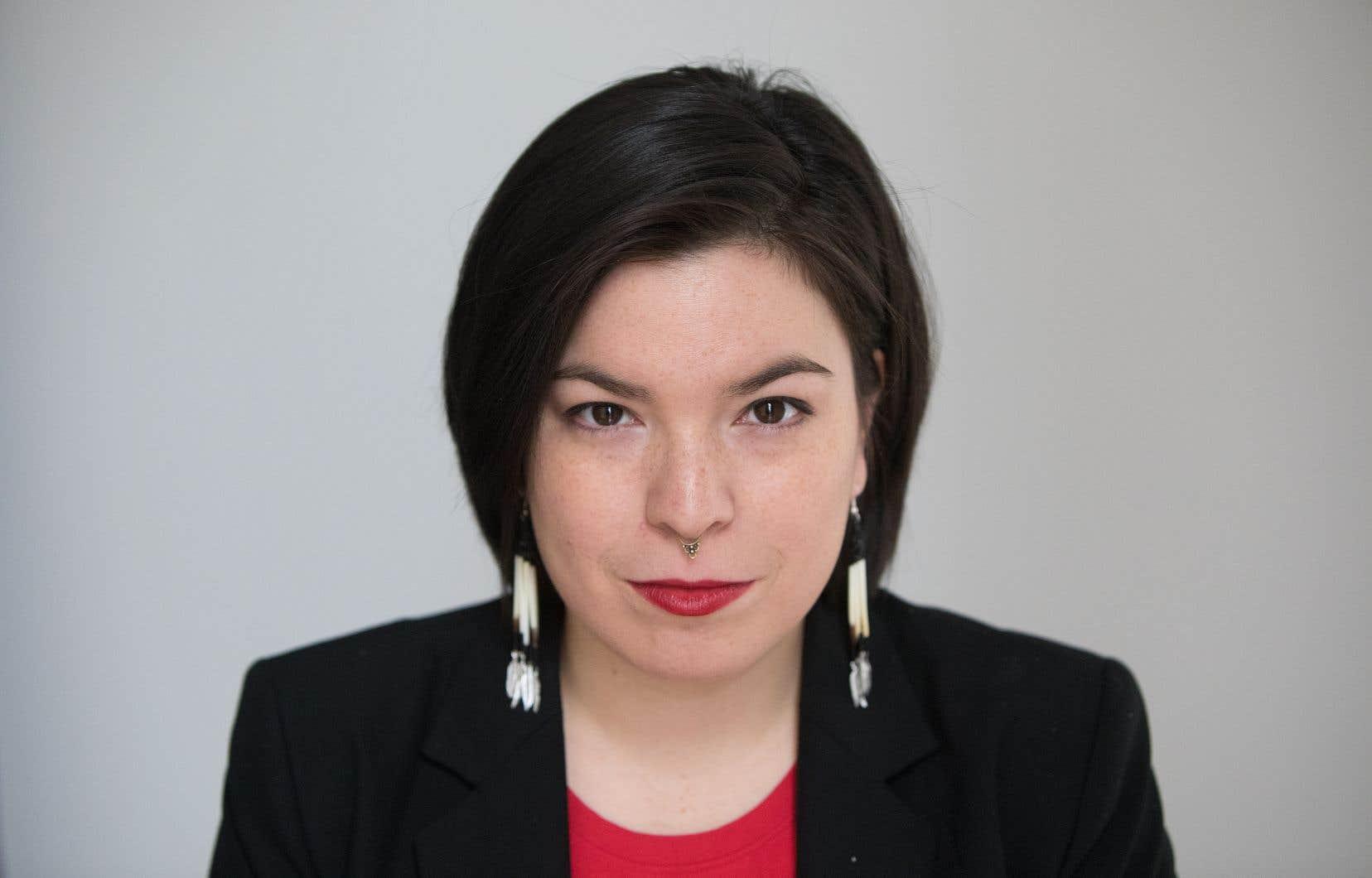 Natasha Kanapé Fontaine, autrice, comédienne et poète
