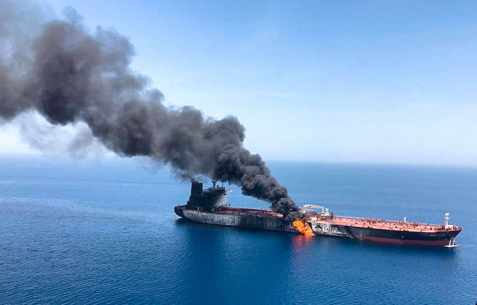 Deux pétroliers ont été la cible le 13 juin dernier d'une attaque que les États-Unis ont aussitôt attribuée à l'Iran.