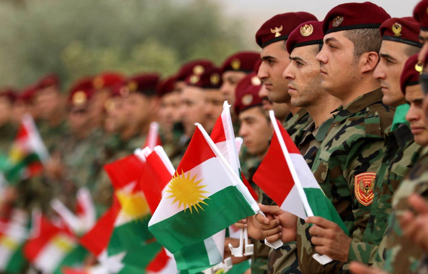 Après des années de soutien envers les militaires kurdes, le gouvernement canadien a mis fin à la collaboration en octobre 2017.