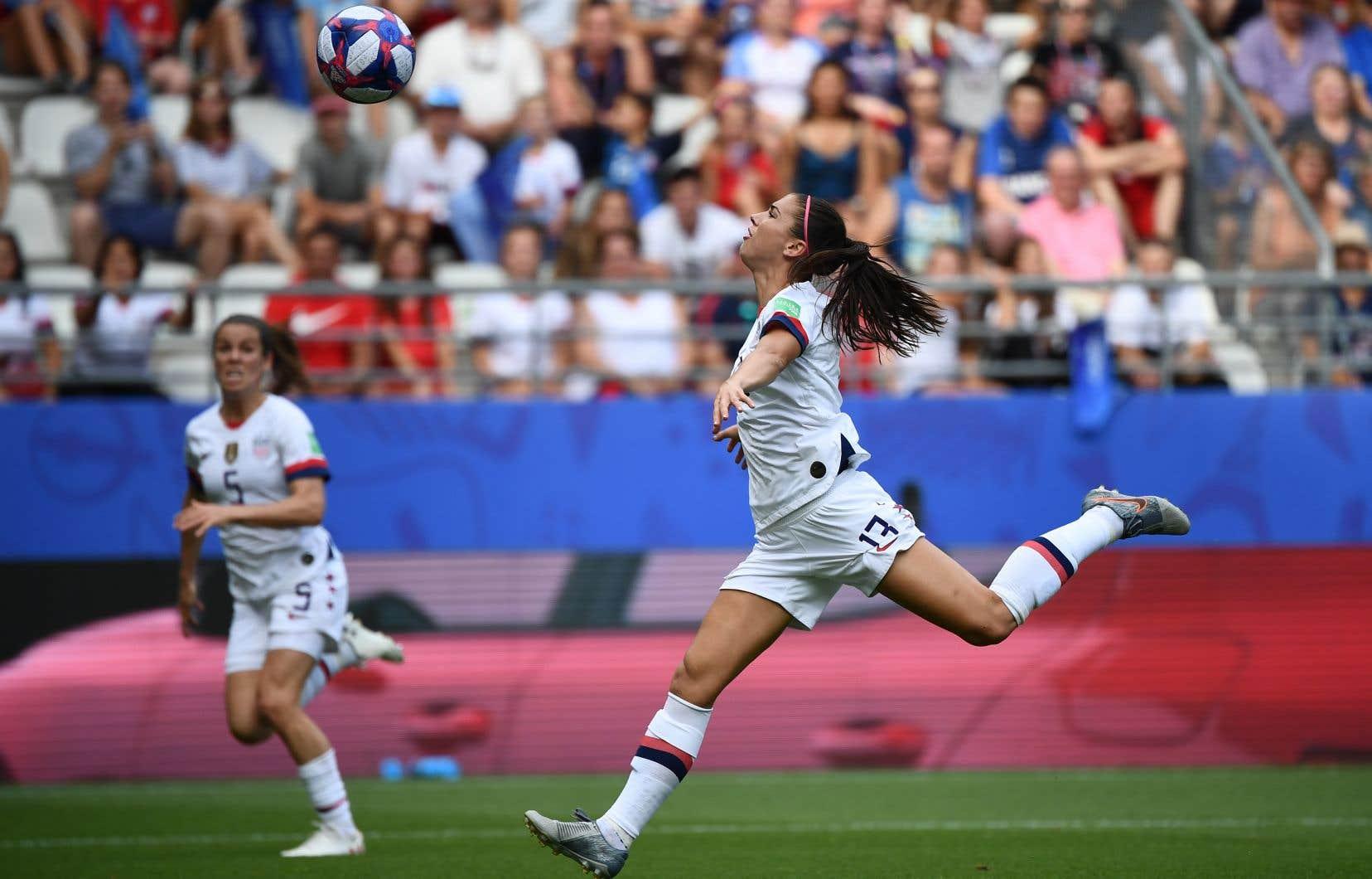 Les États-Unis ont dominé 18-0 pour les buts en phase de groupe. Jusqu'à lundi, le club n'avait pas permis de but en huit matchs, en remontant aux Jeux olympiques de 2016 (écrasant l'opposition 44-0).