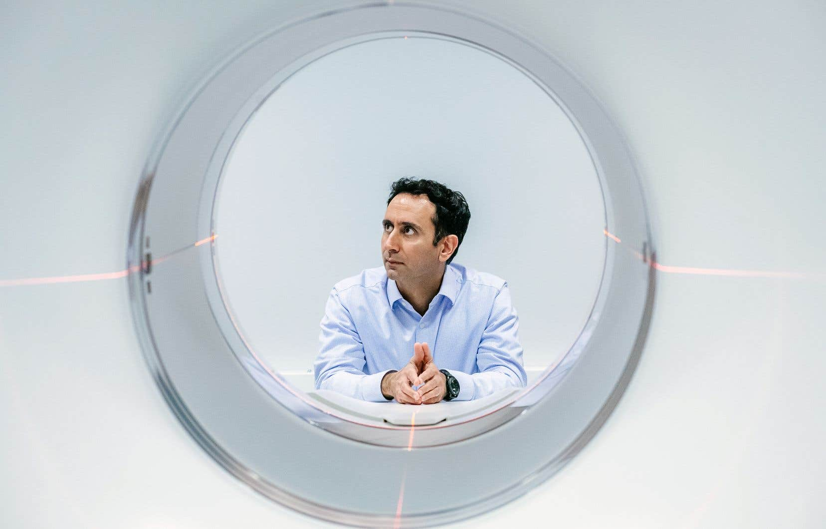 Hassan Rivaz, titulaire de la Chaire de recherche de l'Université Concordia en analyse des images médicales