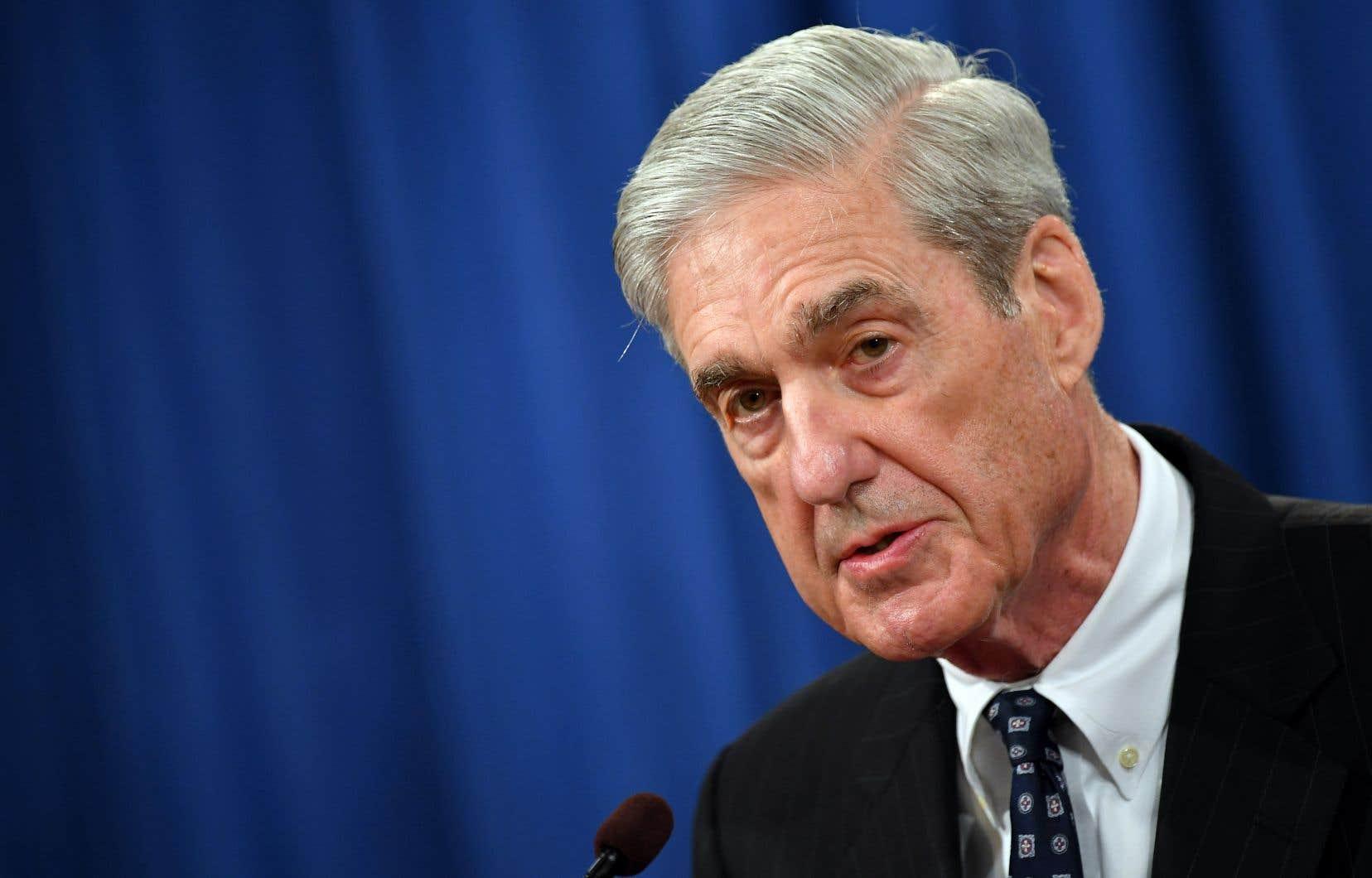 L'ancien procureur spécial américain Robert Mueller