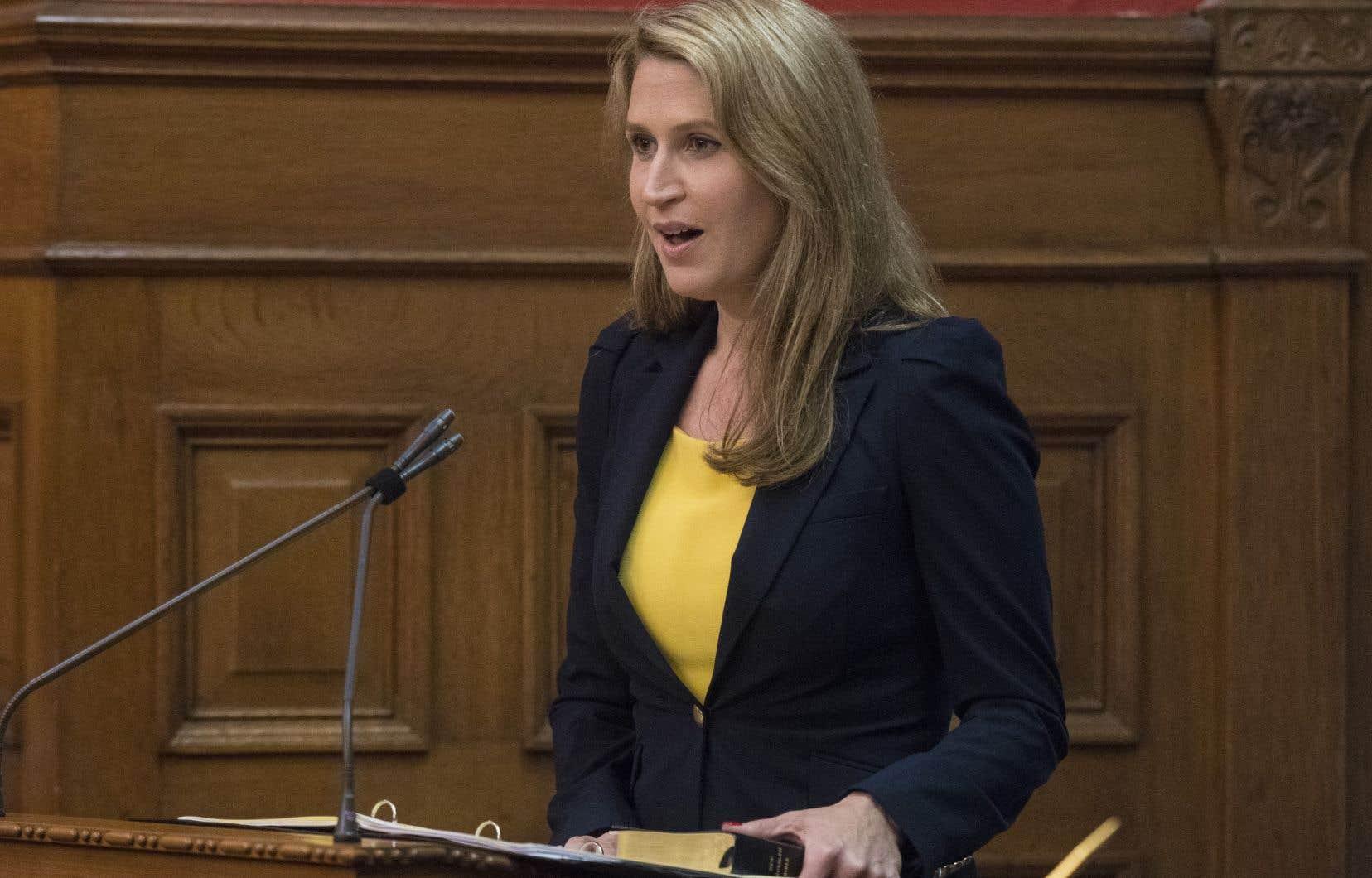 Laministre ontarienne des Affaires francophones,Caroline Mulroney
