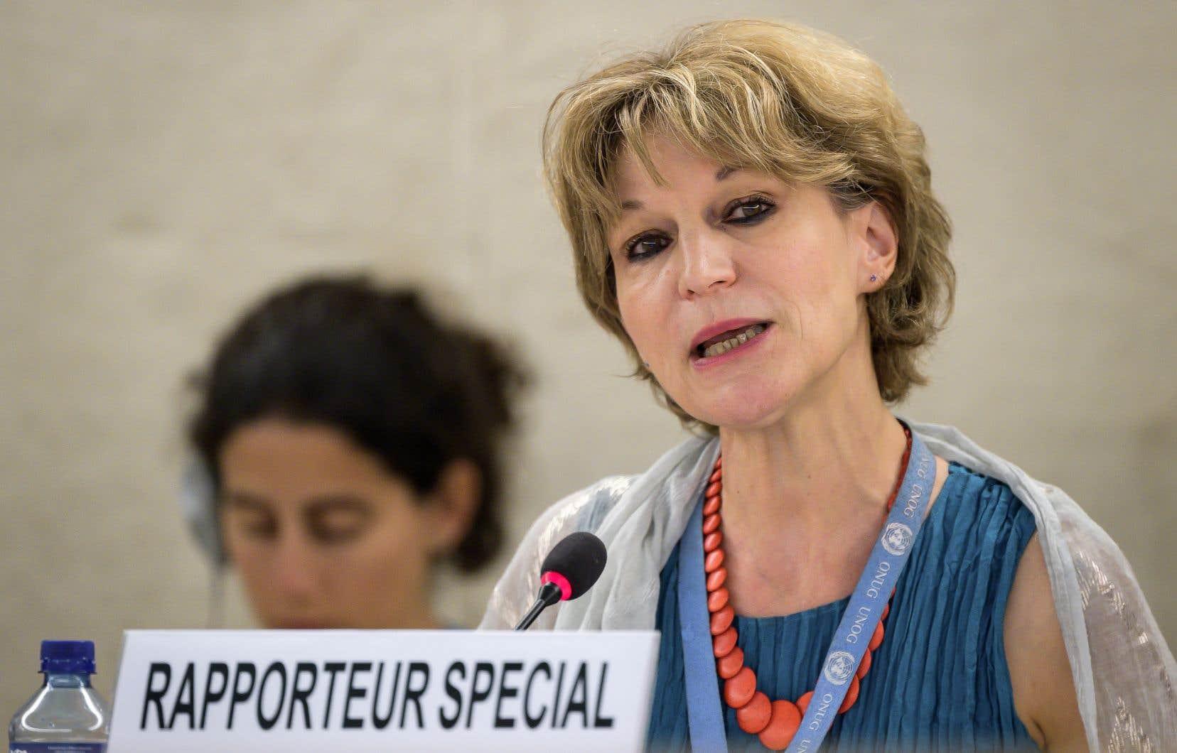 La rapporteuse spéciale des Nations unies, Agnès Callamard, a présenté son rapport sur l'assassinat de Jamal Khashoggi devant le Conseil des droits de l'Homme de l'ONU, à Genève.