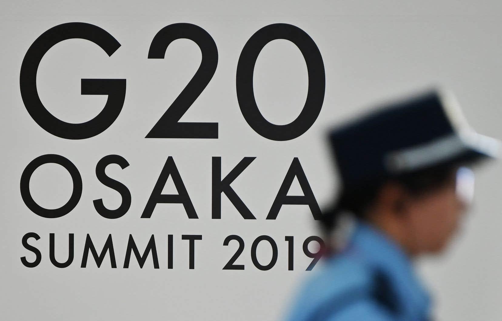 Le sommet du G20 se tient à Osaka, au Japon.