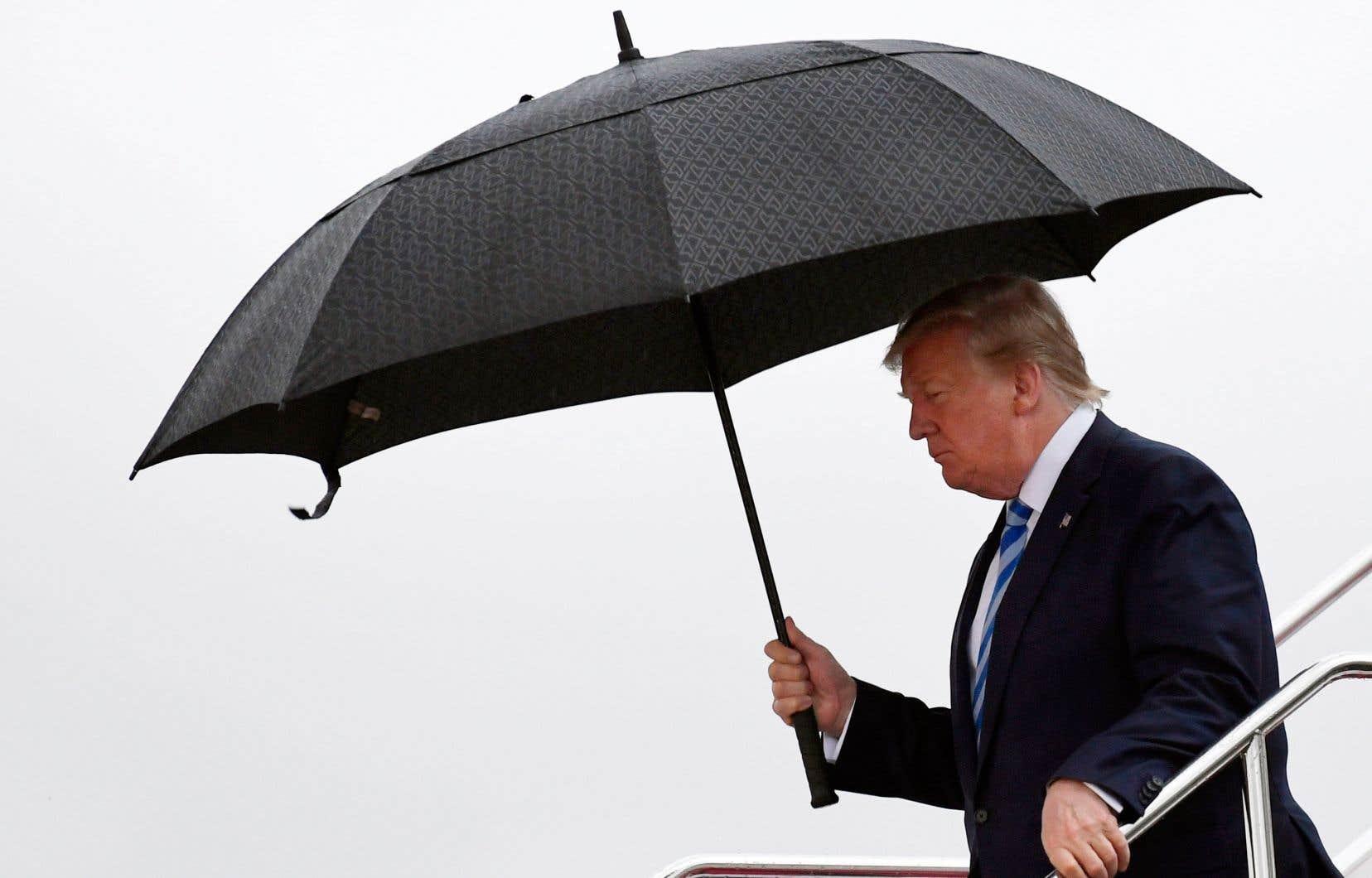 Donald Trump est le parfait représentant de cette puissance moins sûre de sa domination, au comportement brouillon et imprévisible.