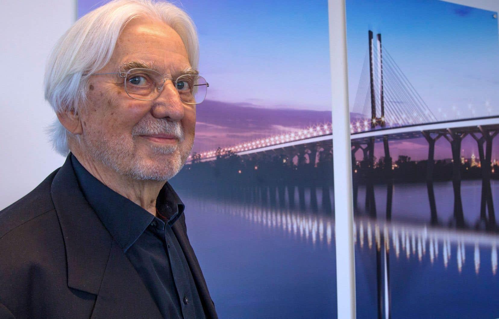 Selon l'architecte danois Poul Ove Jensen, l'échéancier très serré, originellement perçu comme une contrainte à la conception du pont Samuel-De Champlain, s'est finalement métamorphosé en un atout.