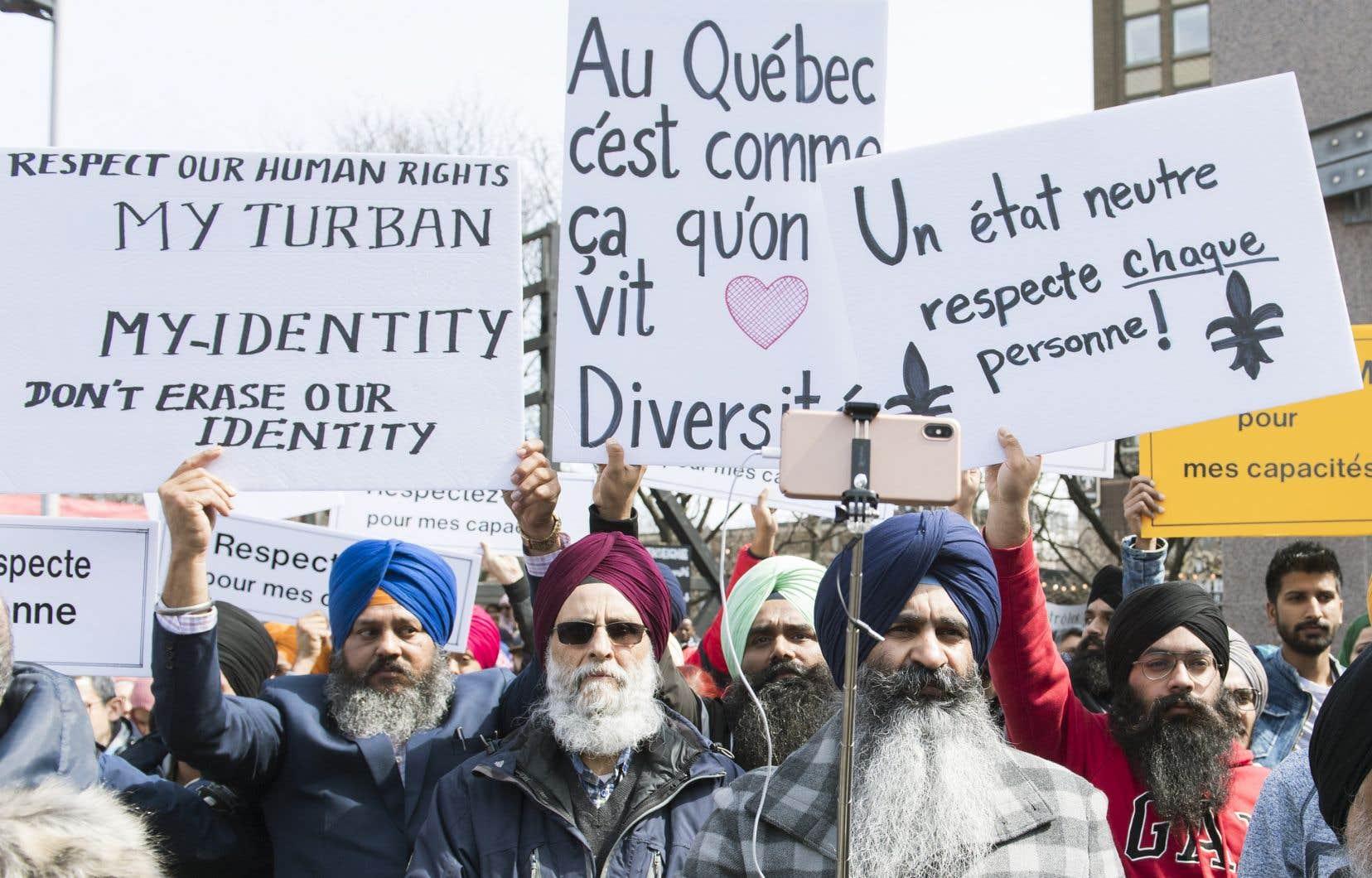 «Aujourd'hui, une haine se déchaîne contre la conception québécoise de la laïcité, conception distincte de la conception dominante au Canada», croit l'auteur.