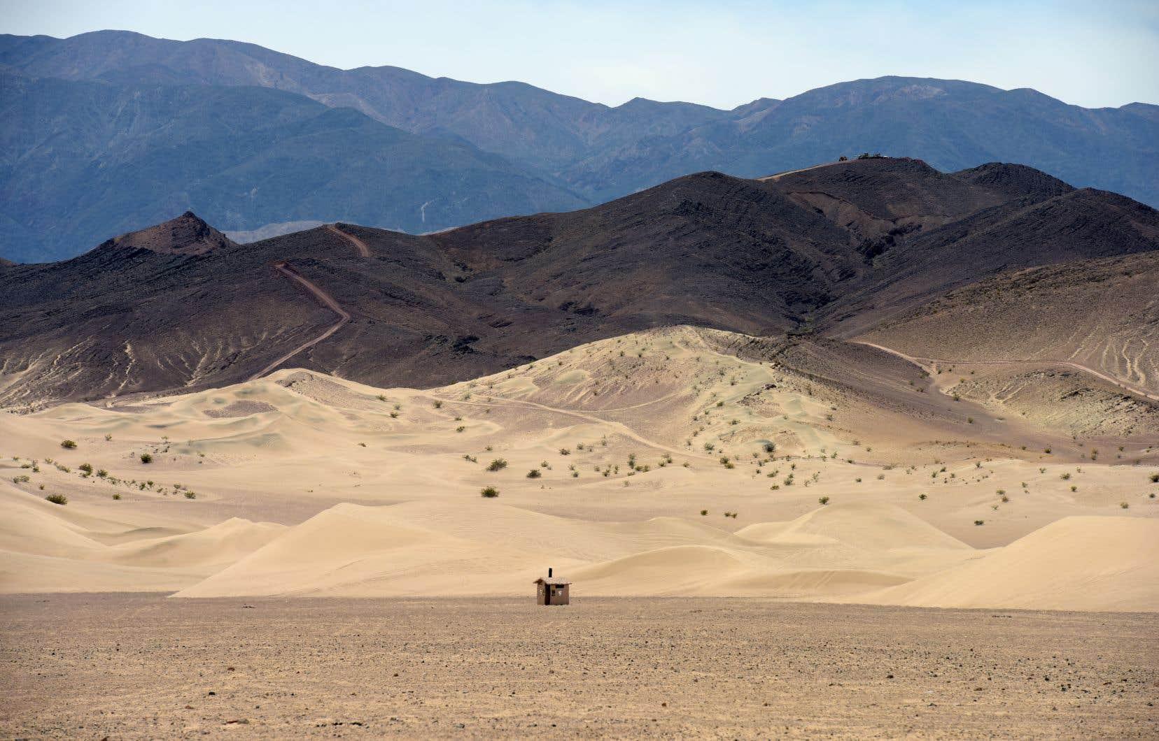 L'épicentre du séisme a été localisé dans le désert de Mojave.
