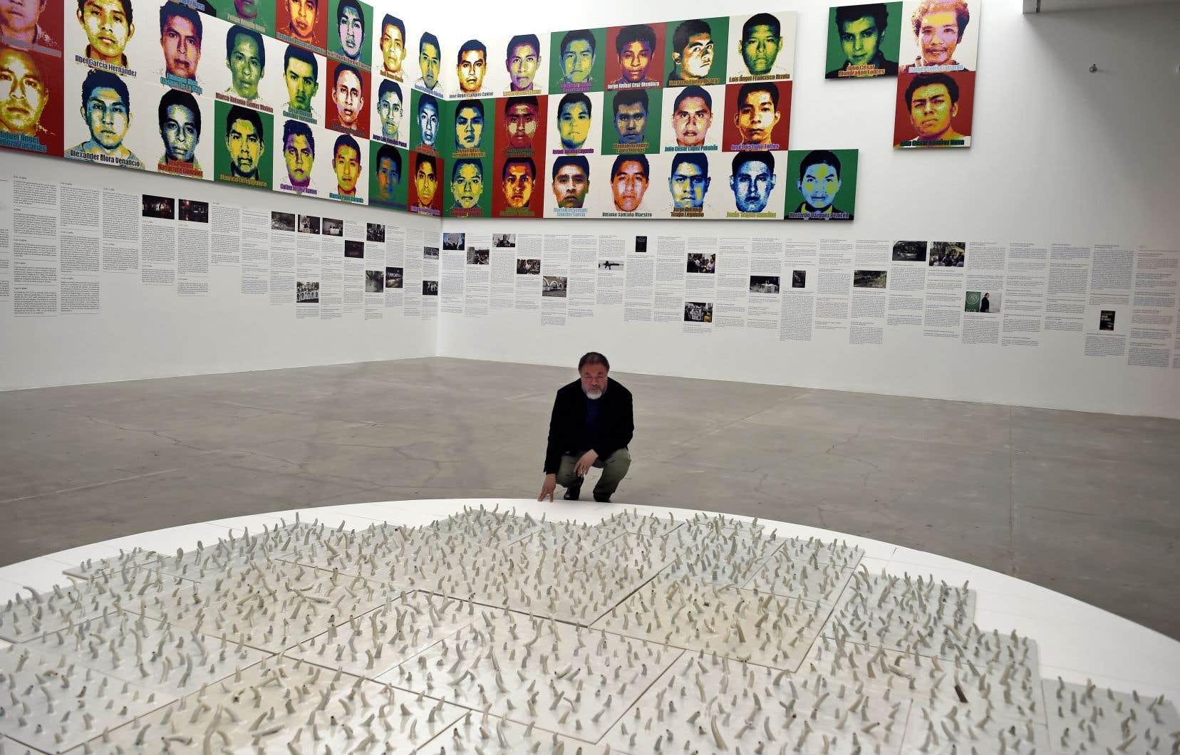 Ai Weiwei a présenté son exposition «Restablecer memorias» en avril dernier, au Museo universitario de arte contemporáneo à Mexico.
