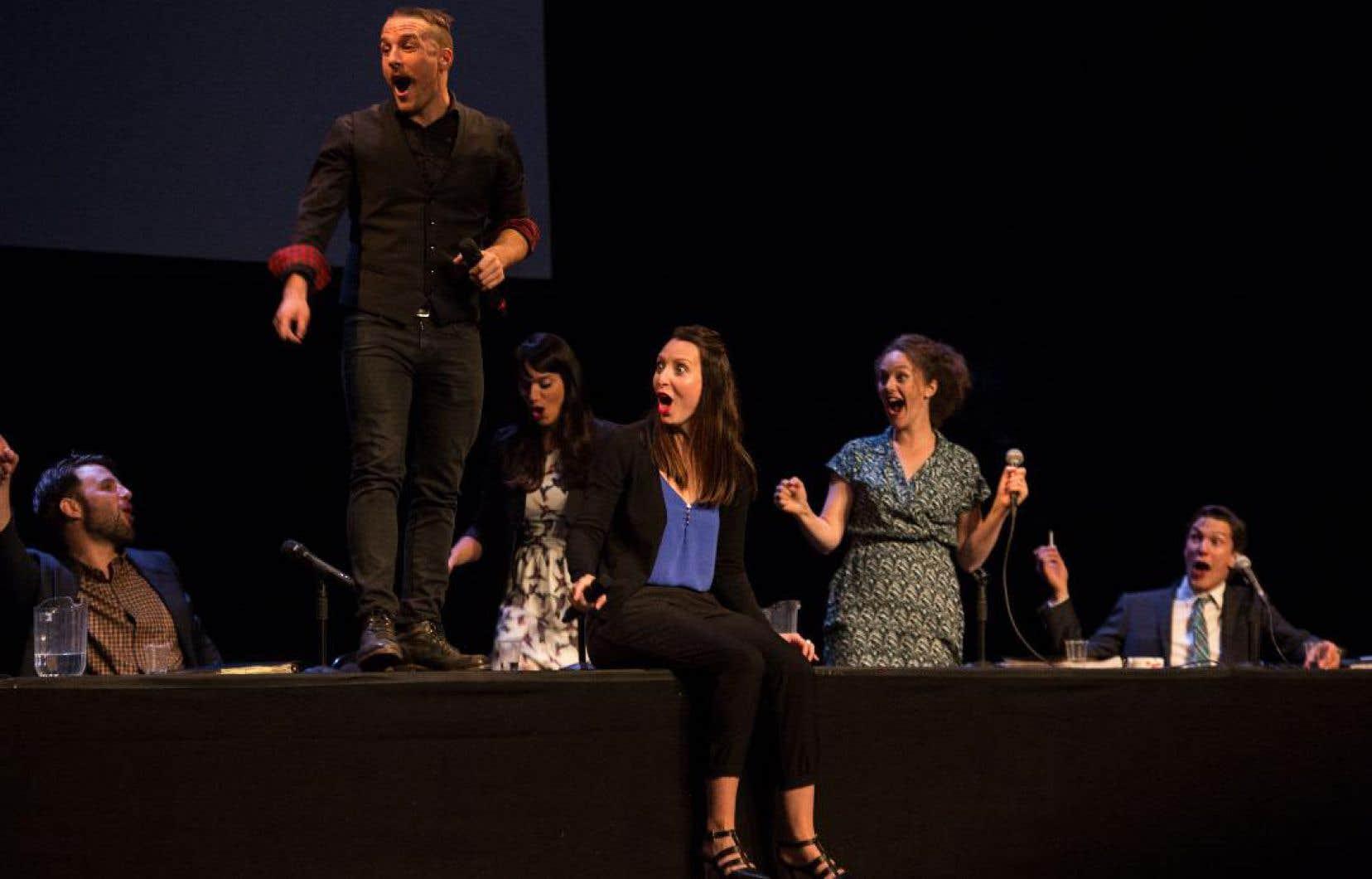 La pièce «NoShow», en plus de son immense succès au OFF d'Avignon en 2017, a connu l'une des plus grosses tournées françaises récentes pour une production québécoise, enchaînant au total plus de 100 représentations.