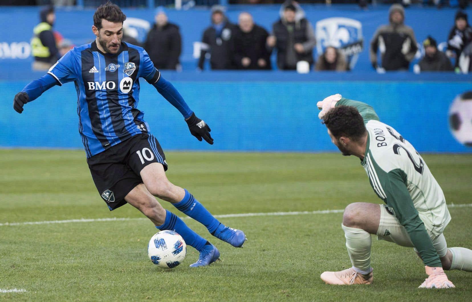 Alors que l'entraîneur-chef, Rémi Garde,avait parlé d'une absence de huit à 12 semaines le 30mai dernier, voilà que le genou d'Ignacio Piatti semble guérir plus rapidement que ce qui avait été prévu.