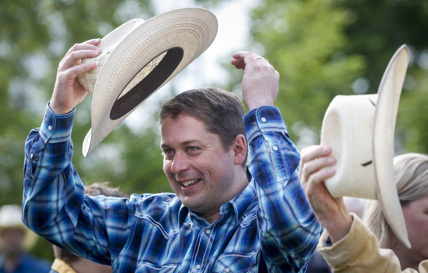 Le chef du Parti conservateur du Canada, Andrew Scheer