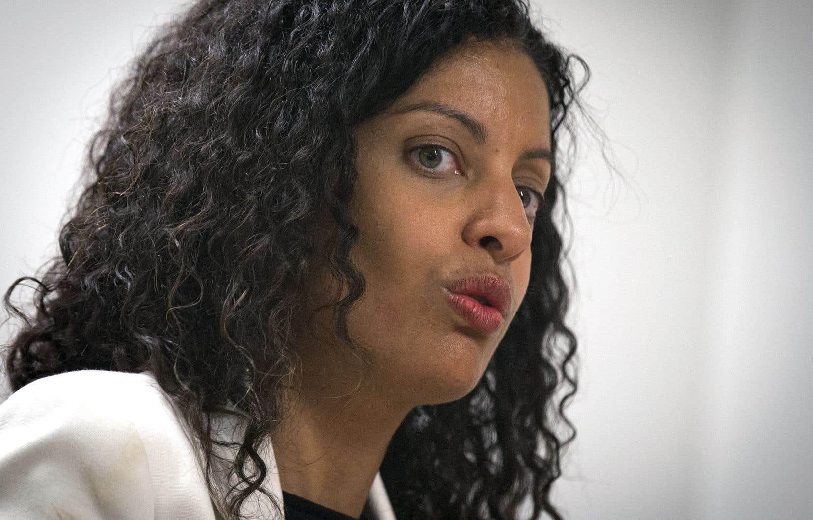 Dominique Anglade en 2017