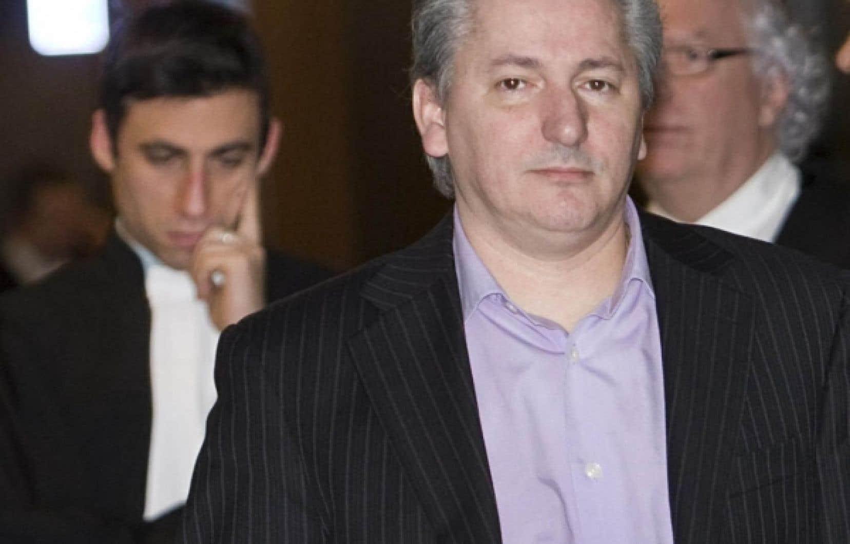 Jean Cholette, un des cinq accusés.<br />