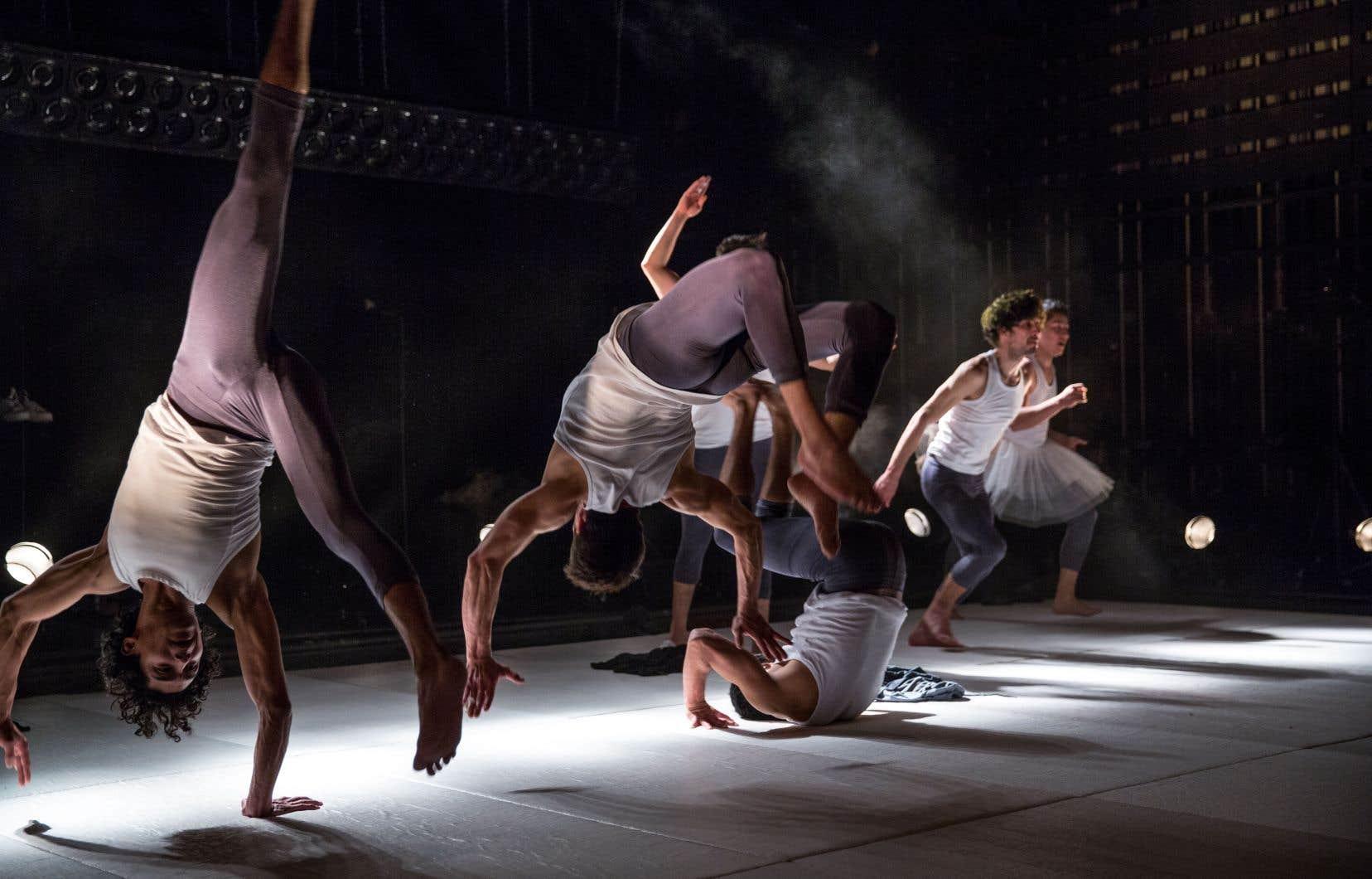 La troupe de cirque El Nucleo est à Montréal pour présenter «Somos».